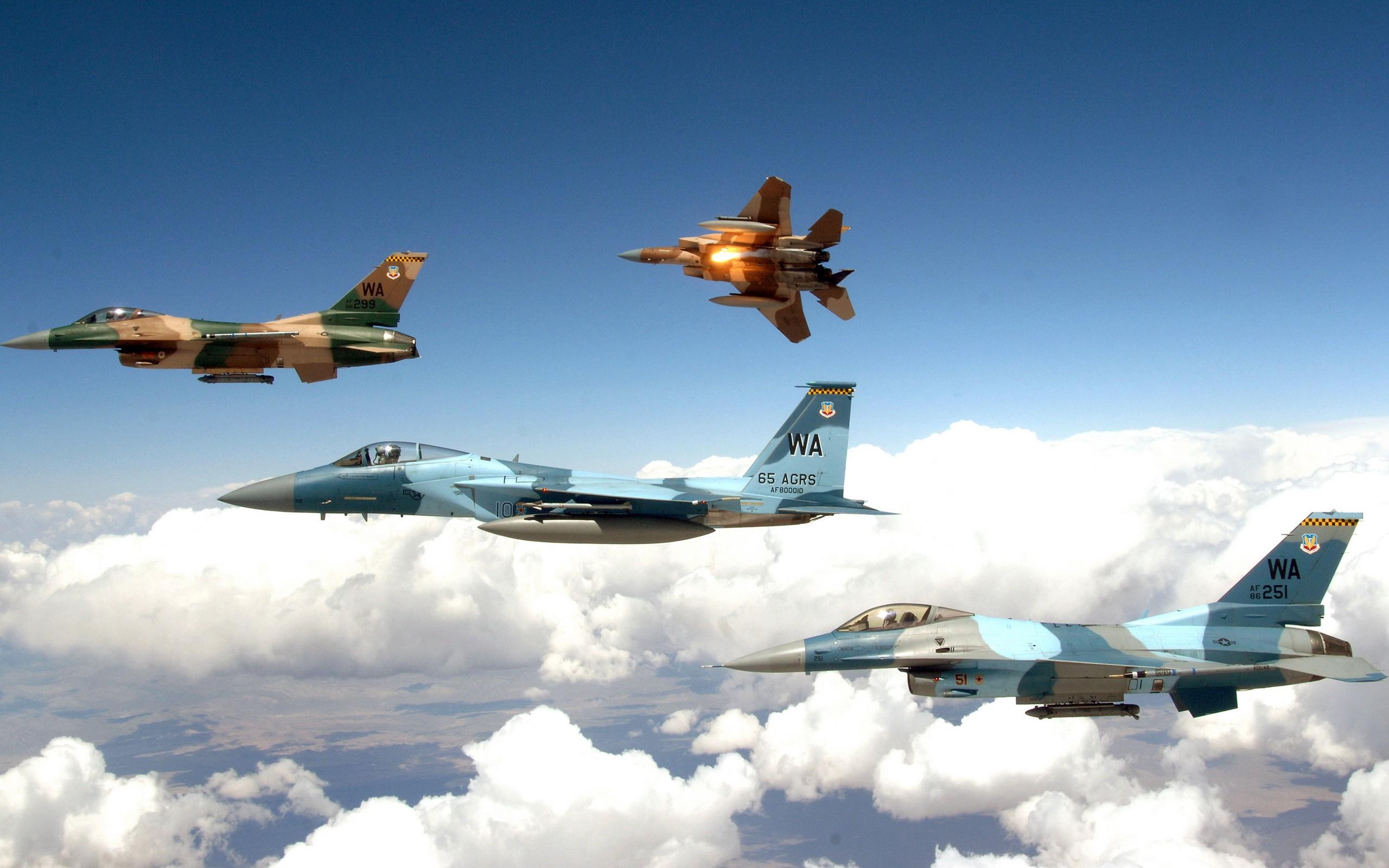 Wallpaper : vehicle, airplane, General Dynamics F 16