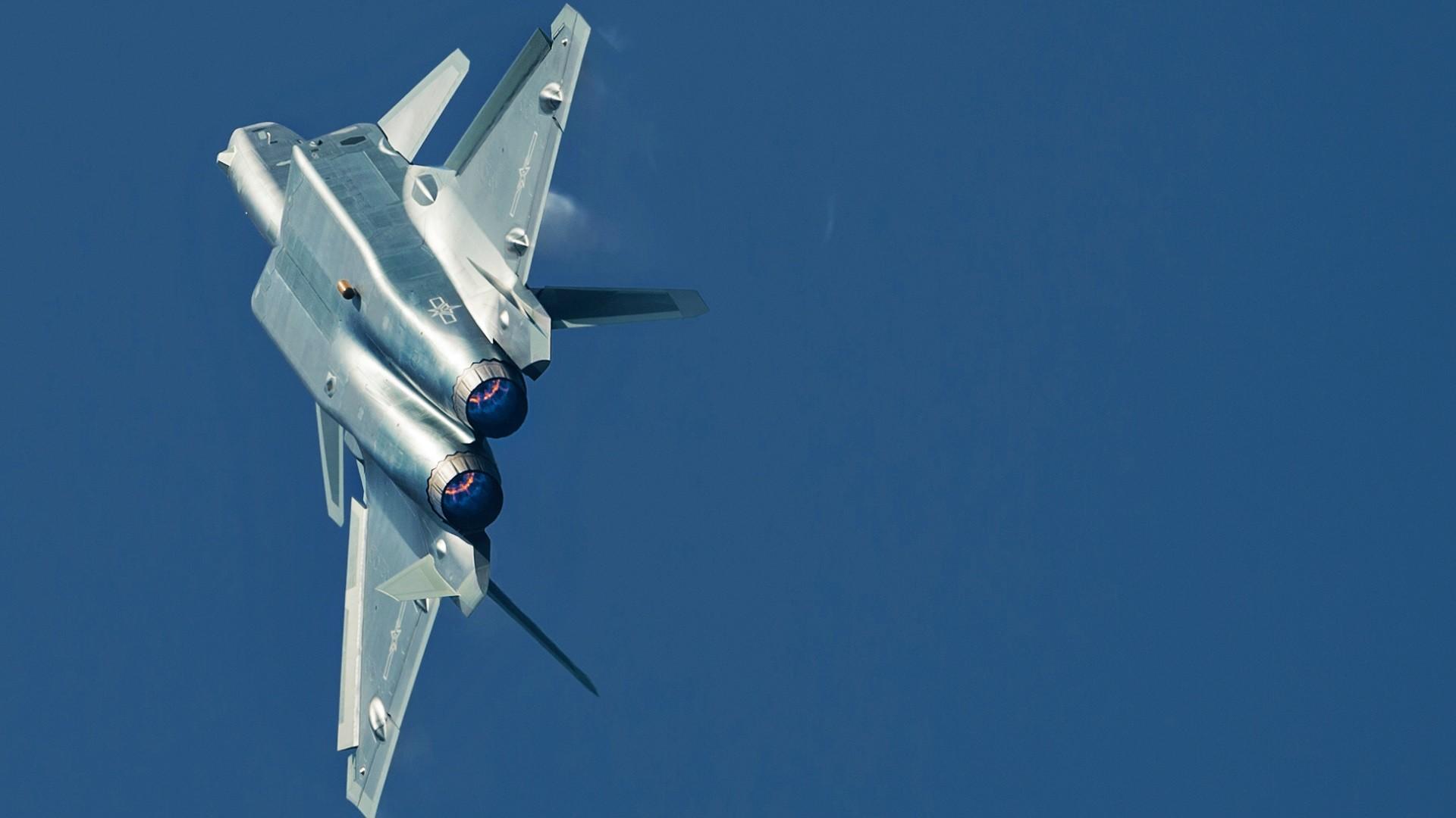 Wallpaper : vehicle, airplane, military aircraft, PLAAF, j20, Sukhoi