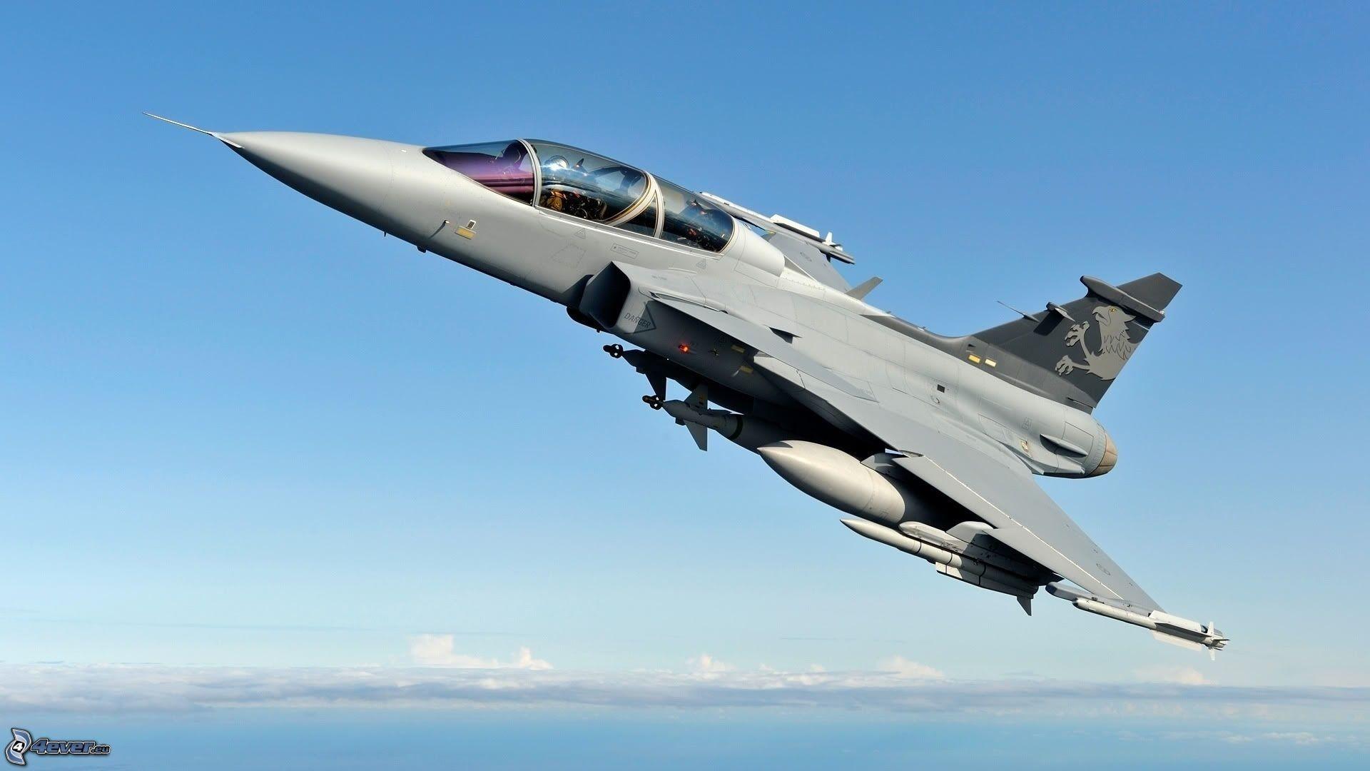Wallpaper : vehicle, airplane, military aircraft, Saab JAS