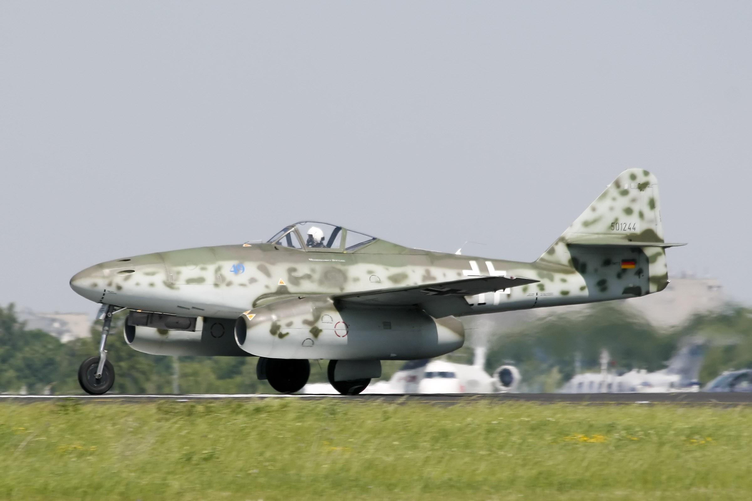 Обои реактивный, me.262, истребитель, бомбардировщик. Авиация foto 15
