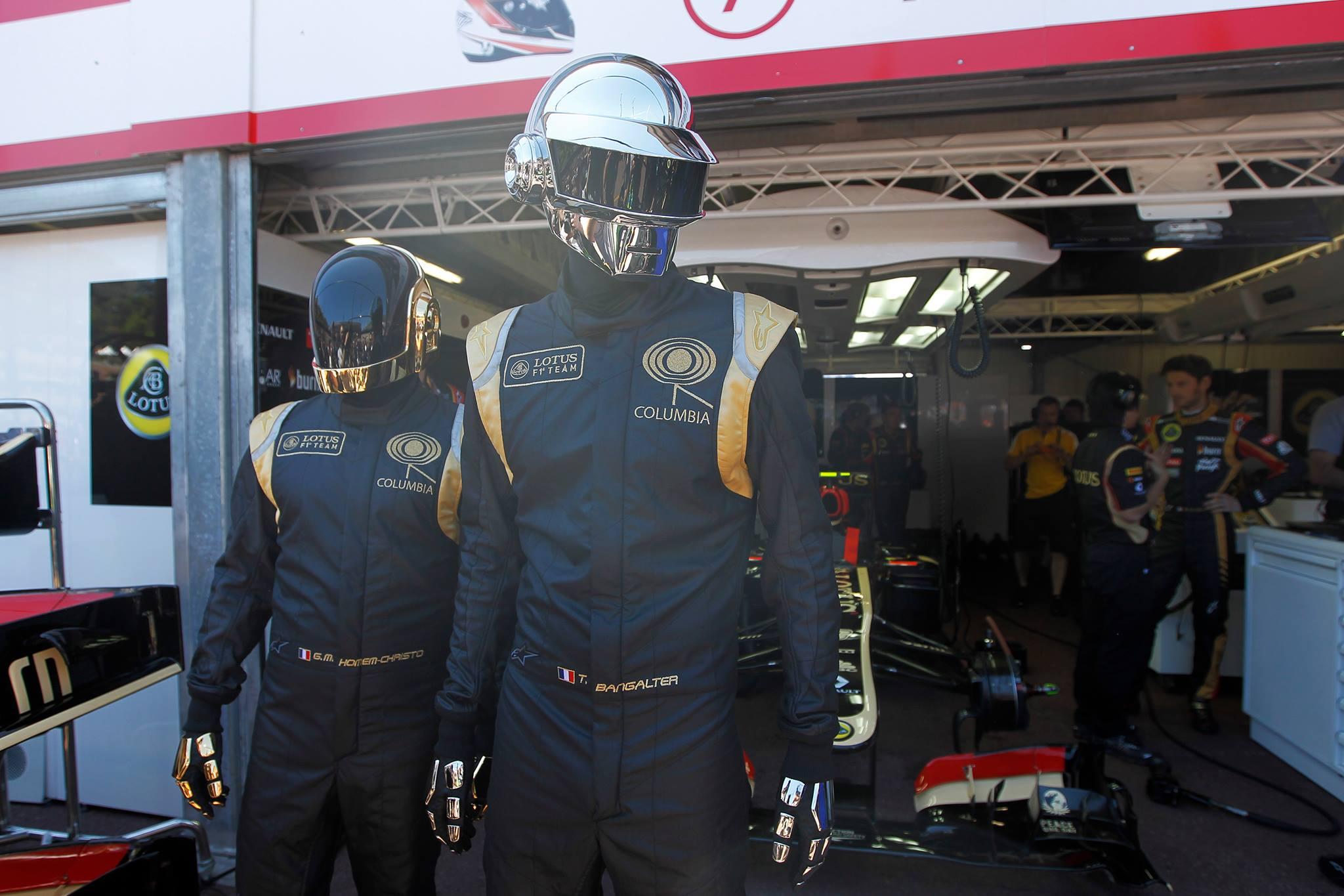 Wallpaper Vehicle Celebrity Formula 1 Daft Punk Person