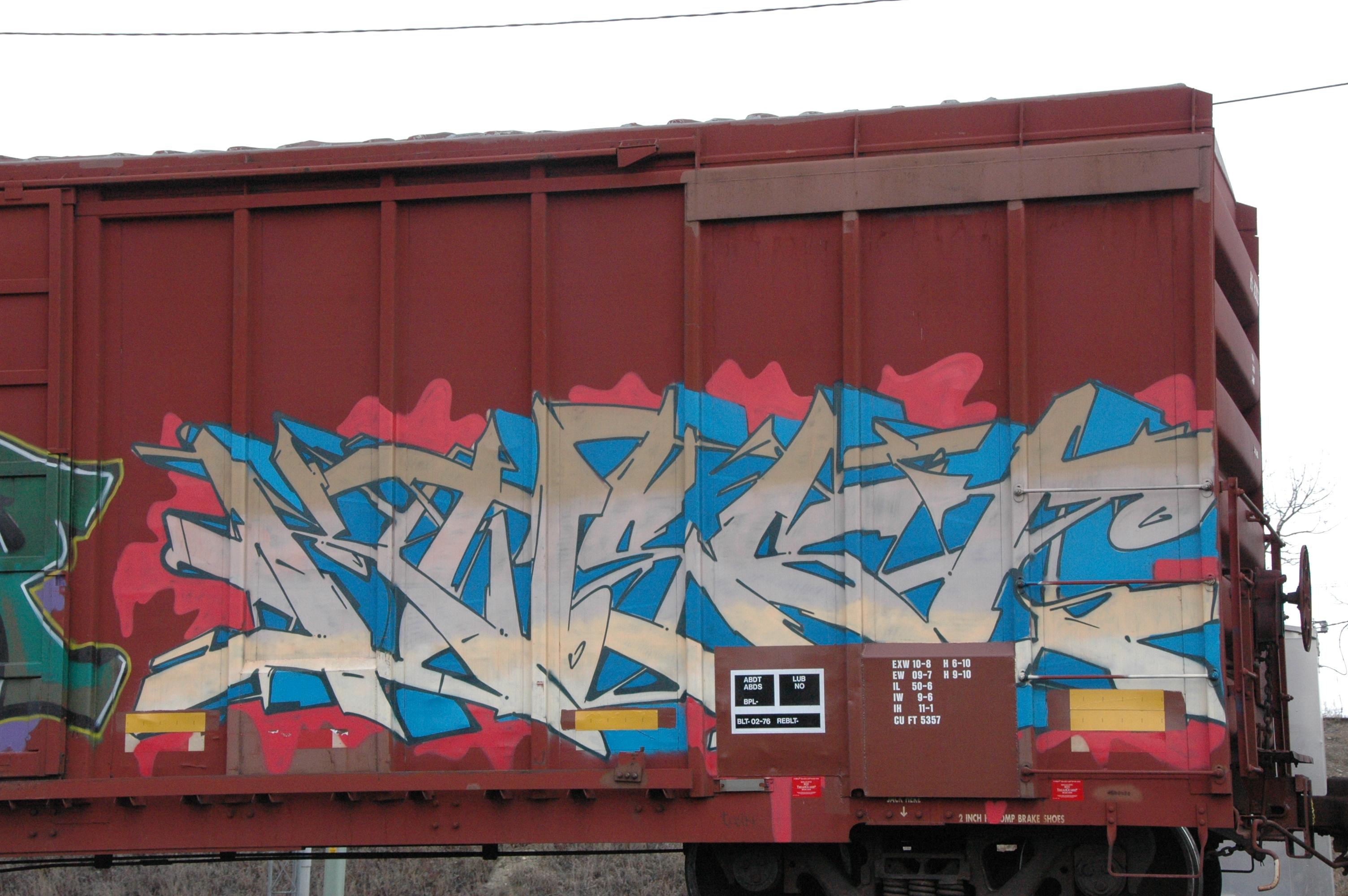 Masaustu Arac Tren Bank Celik Kanada Duvar Yazisi Sokak