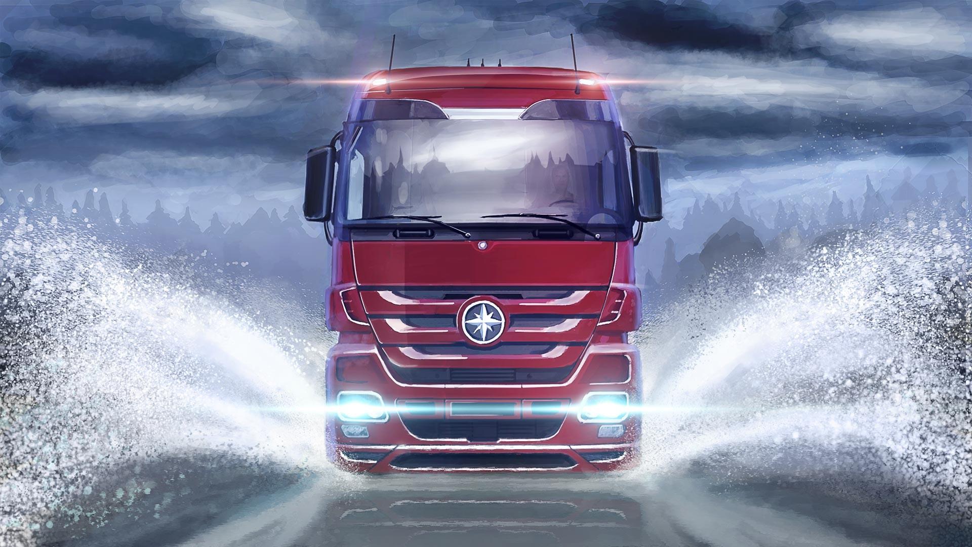 Wallpaper : trucks, transport, Truck, SCS Software, euro