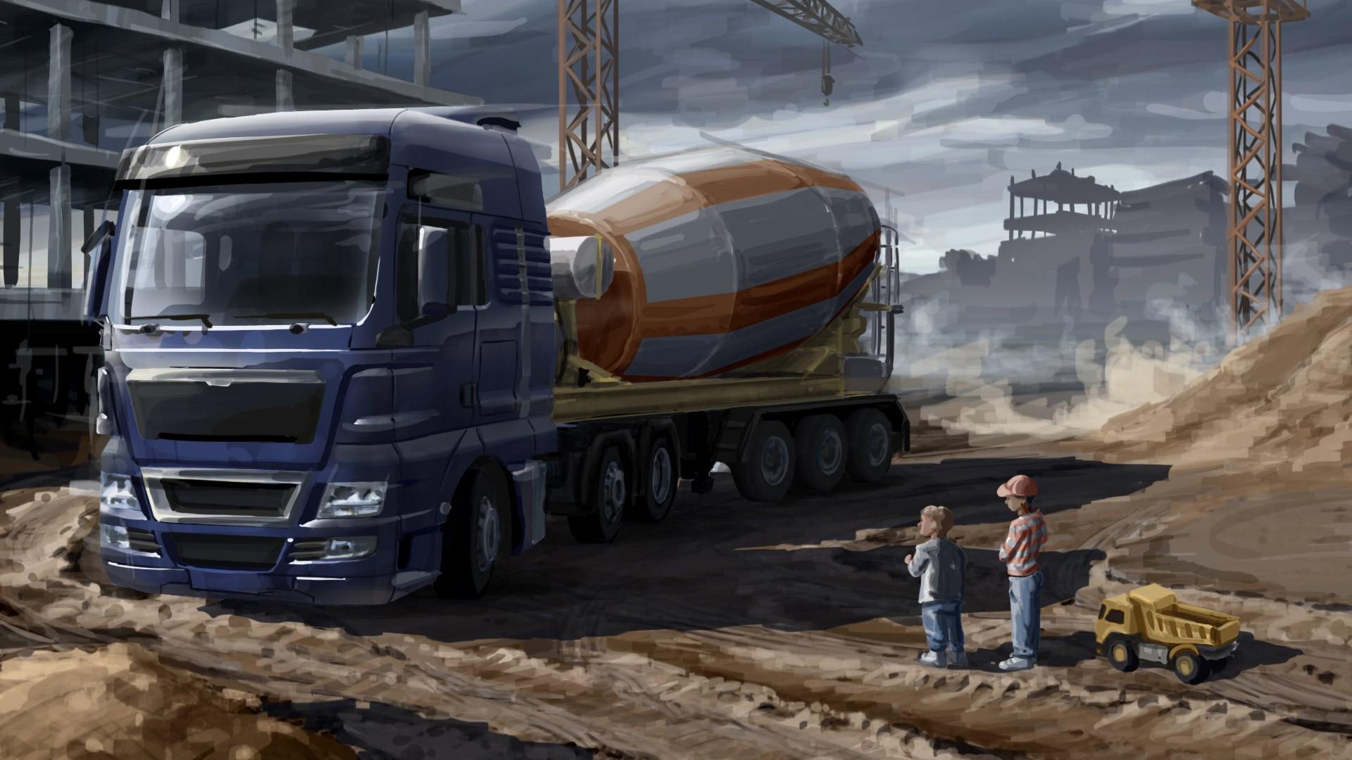 Wallpaper : vehicle, trucks, transport, Truck, SCS Software