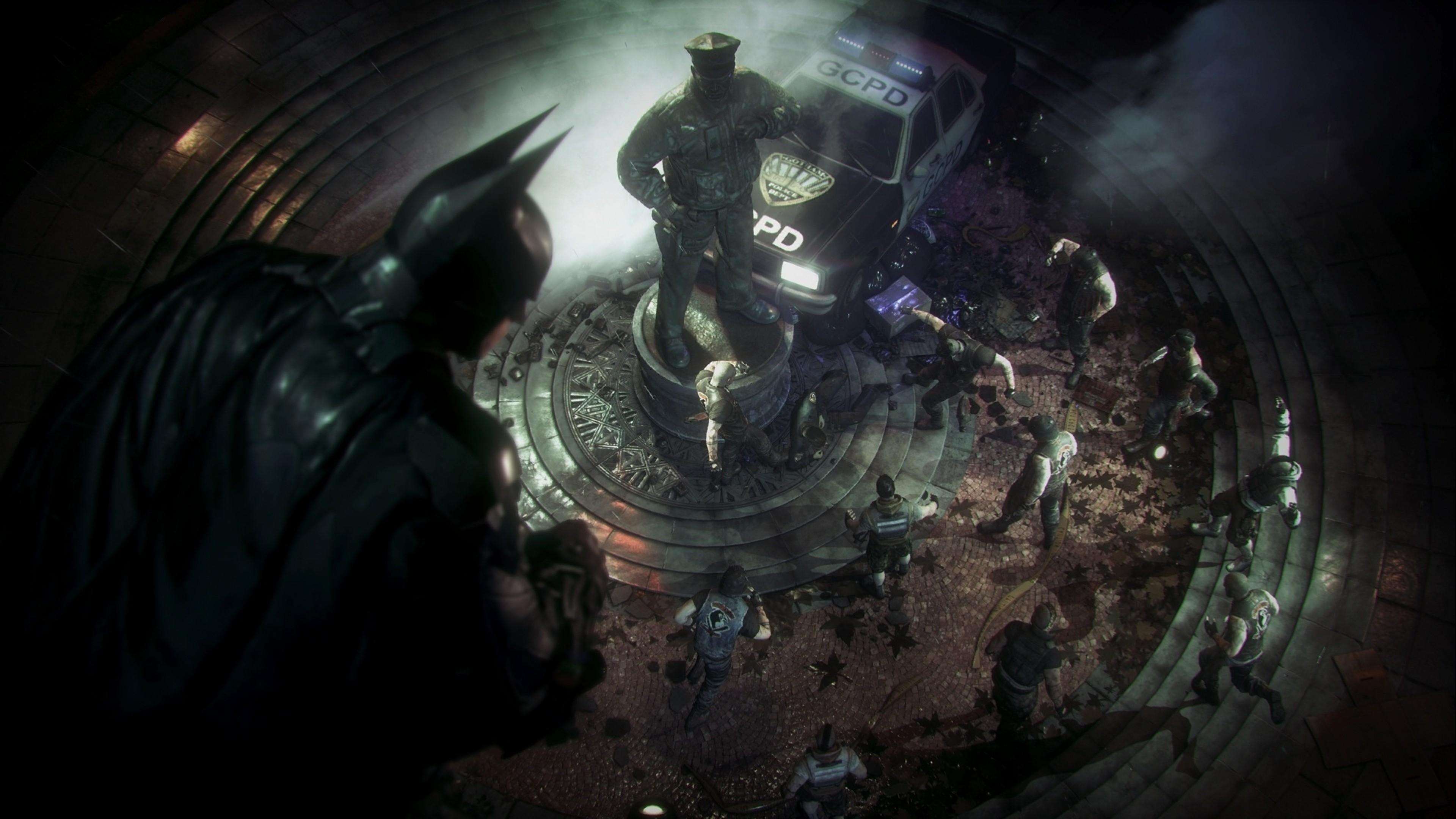 デスクトップ壁紙 ビデオゲーム バットマン アルハム ナイト