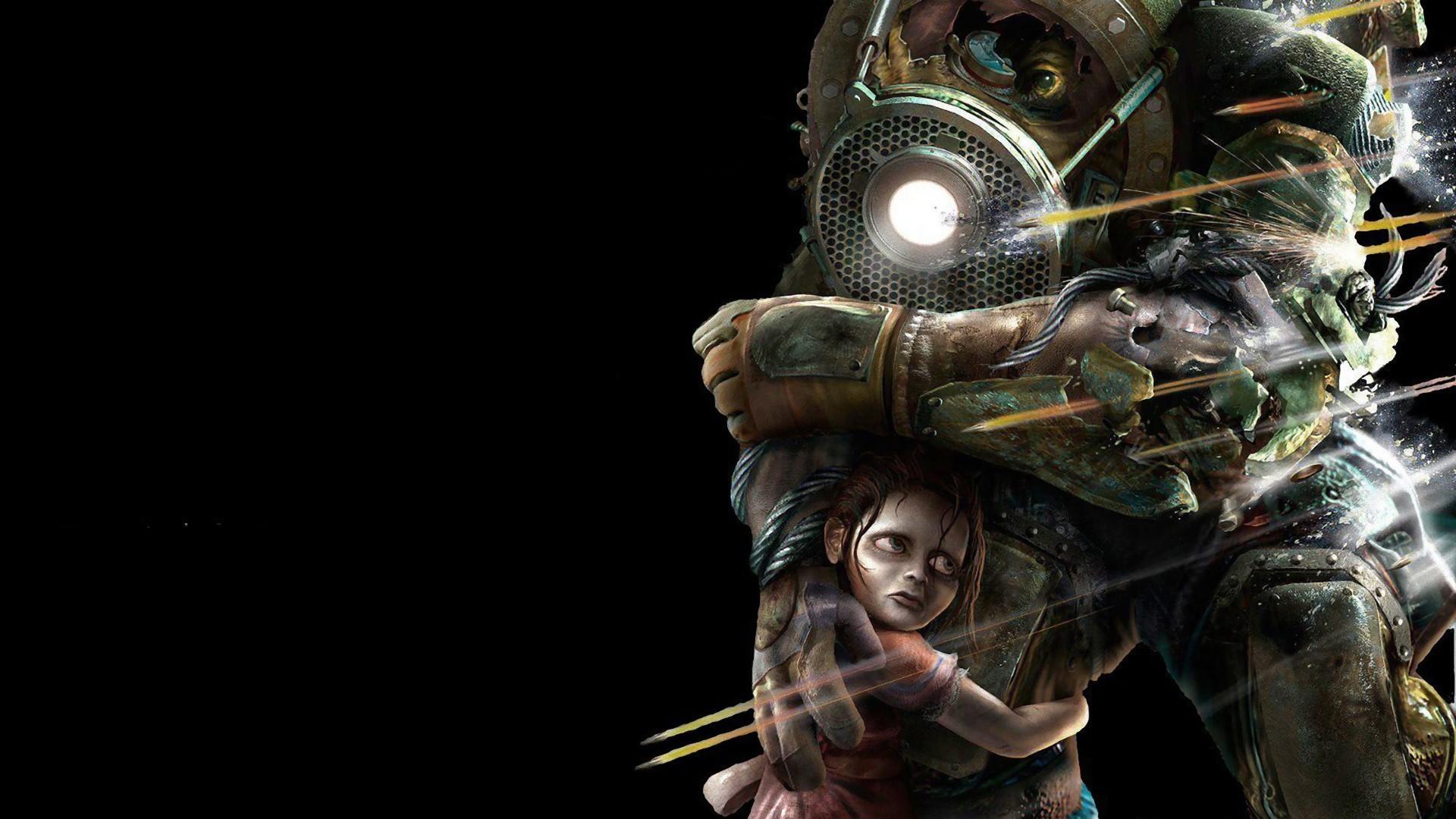 Wallpaper Video Games Big Daddy Bioshock Screenshot