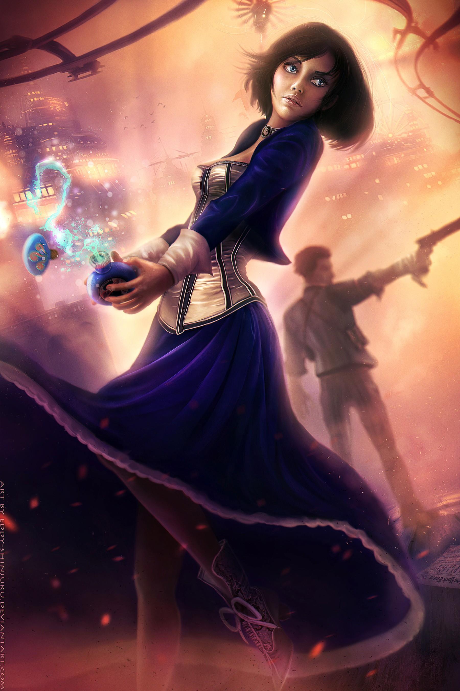 BioShock Elizabeth Infinite Booker DeWitt