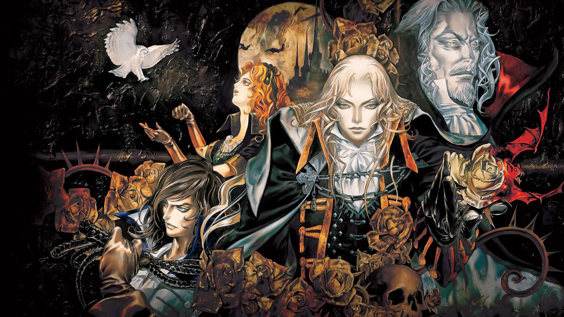 Video Games Castlevania Digital Art Artwork Symphony Of The Night
