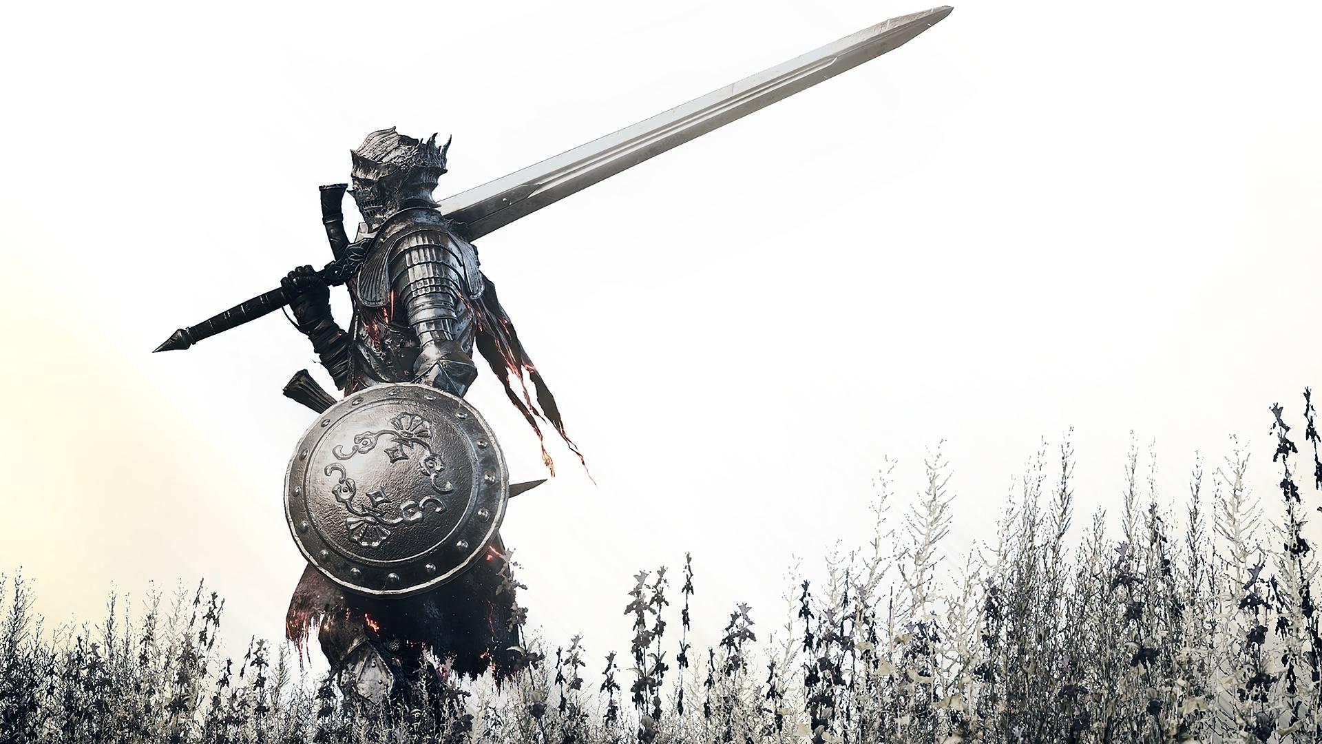Картинки на рабочий стол воин с мечом