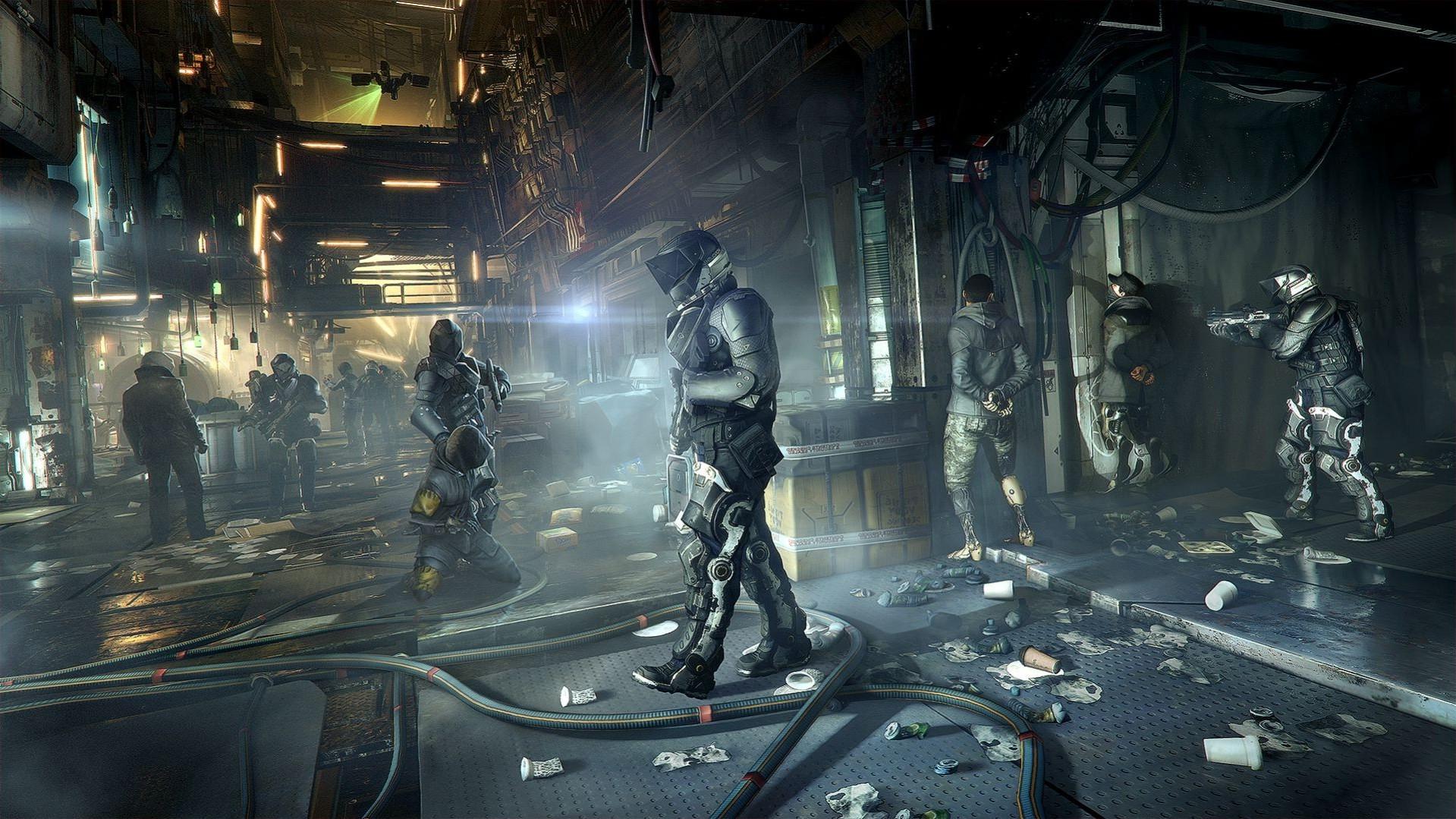 Wallpaper Video Games Deus Ex Mankind Divided Deus Ex