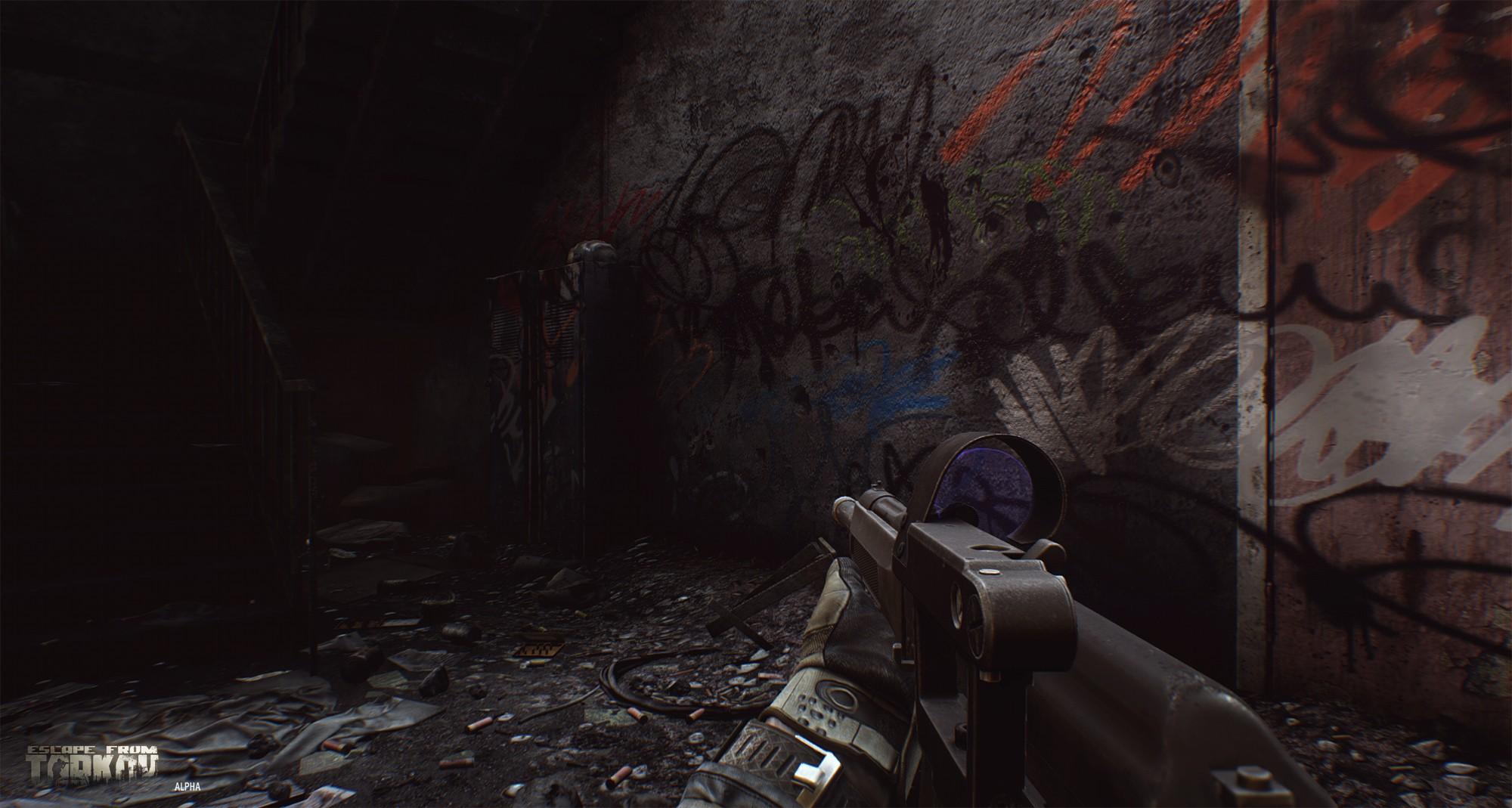 Video Games Escape From Tarkov Videojuegos War Game Tactical Mmorpg Midnight First Darkness Screenshot Pc