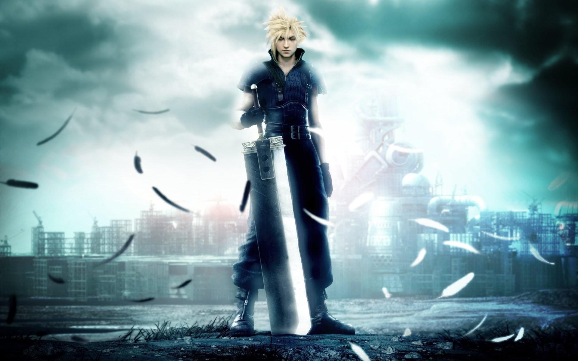Wallpaper Video Games Final Fantasy Vii Cloud Strife Final