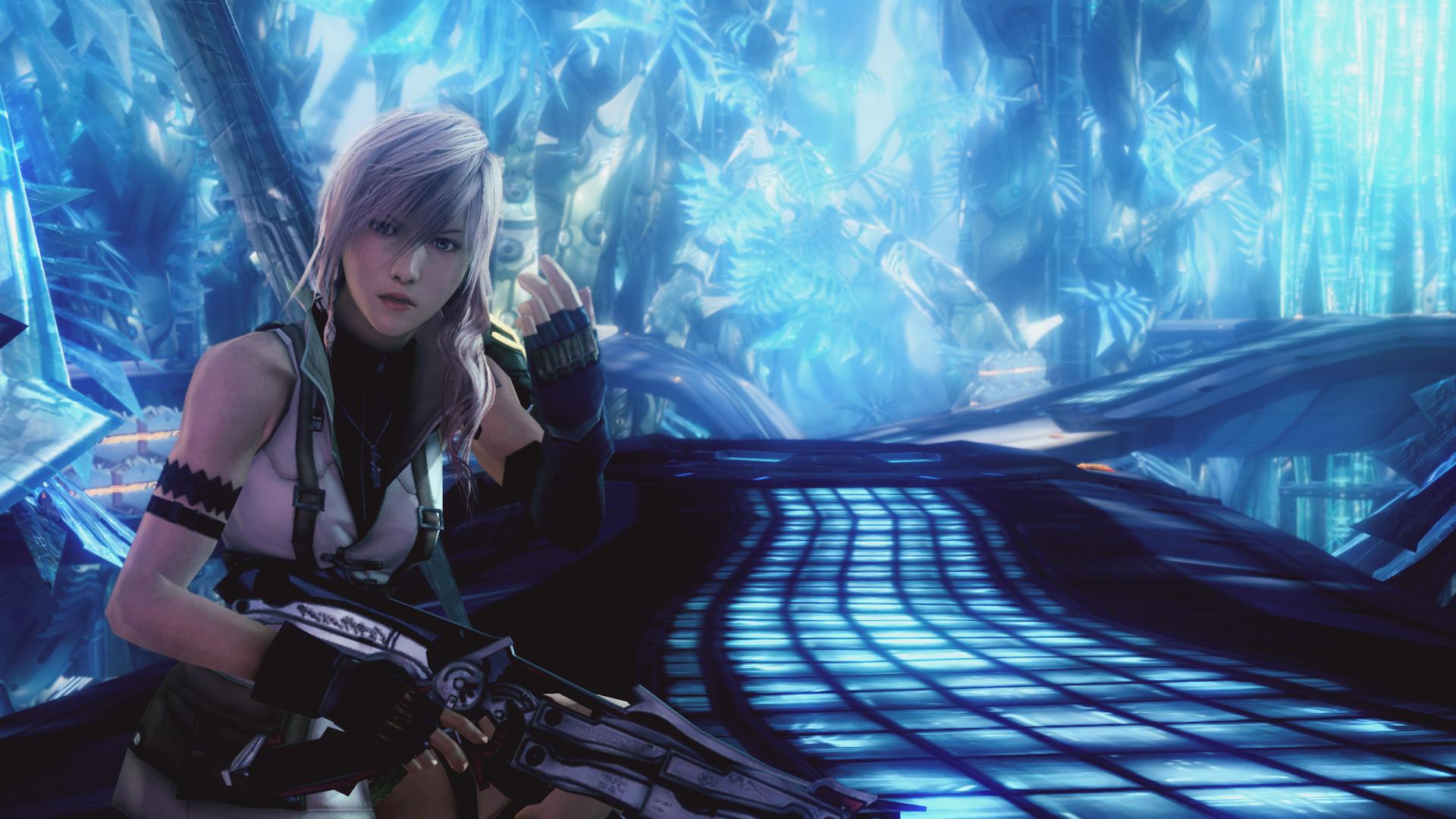 Wallpaper Video Games Final Fantasy Xiii Claire Farron Long