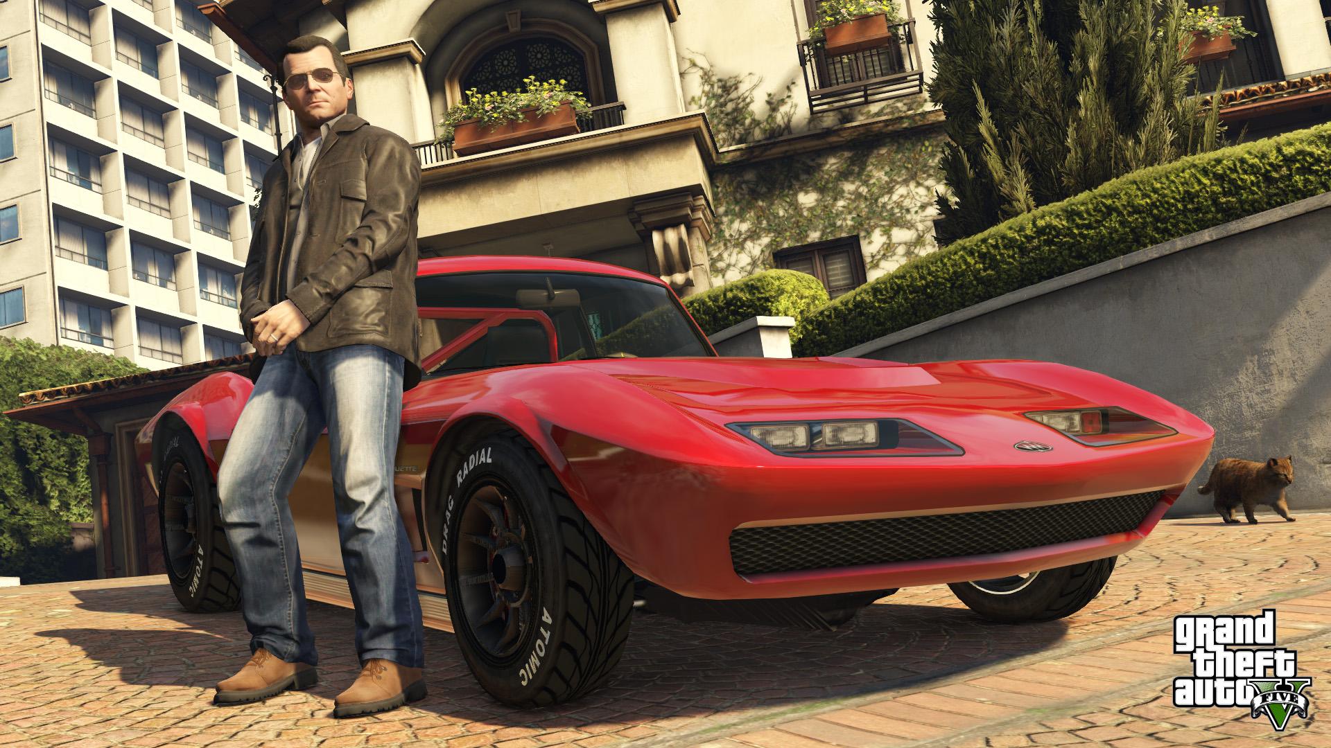 Video Games Grand Theft Auto V Michael De Santa Car