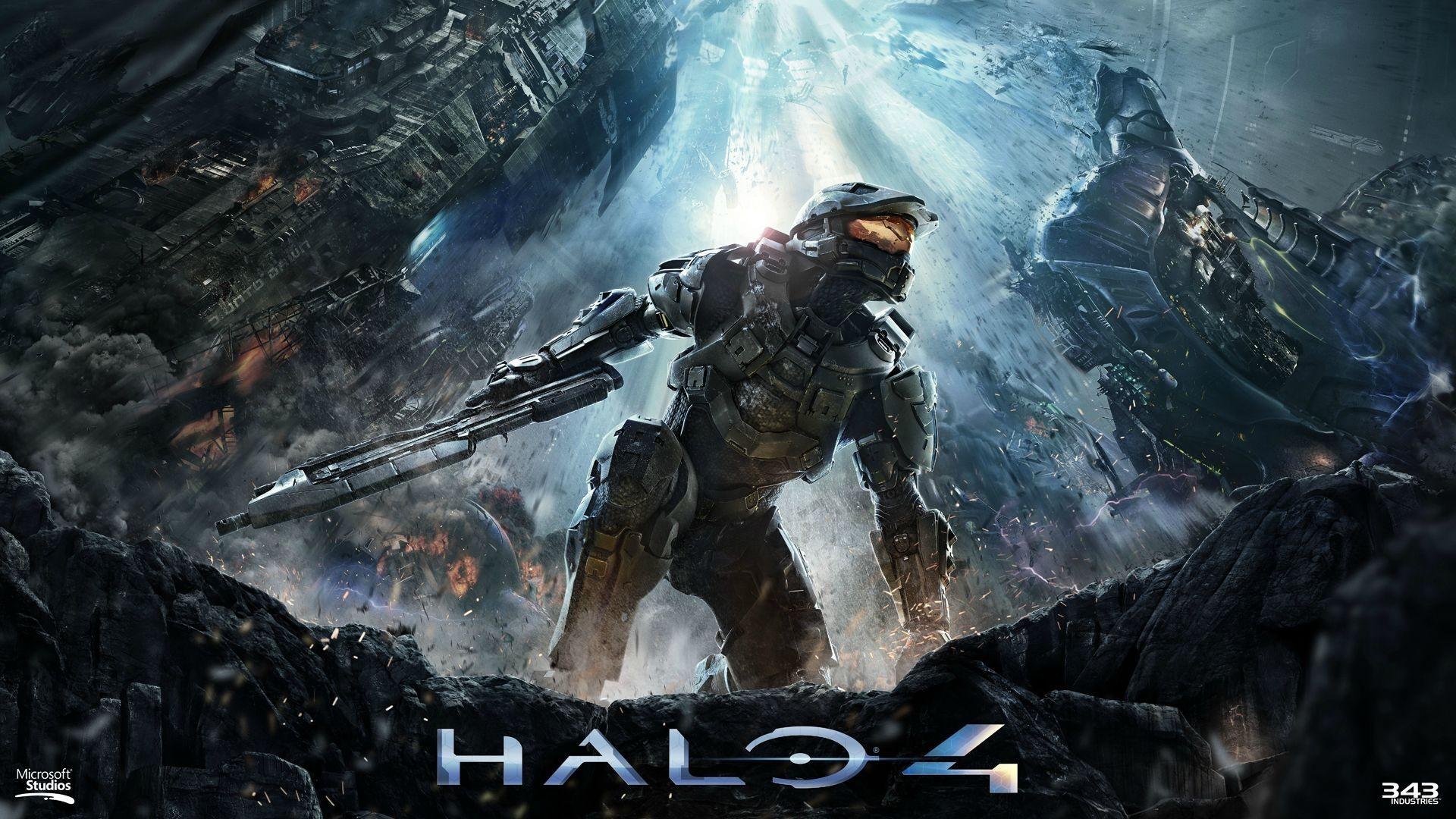 Fondos De Pantalla Videojuegos Aureola Halo 4 Captura