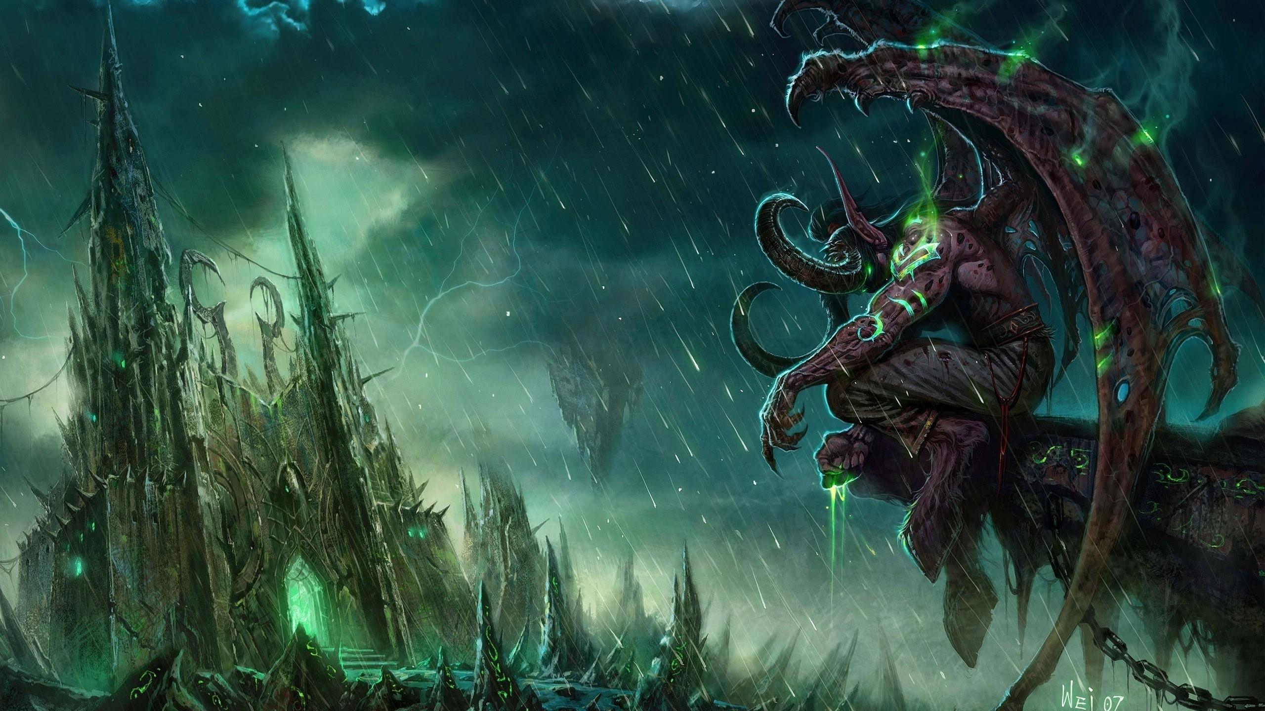 Wallpaper Video Games Illidan Stormrage Mythology World