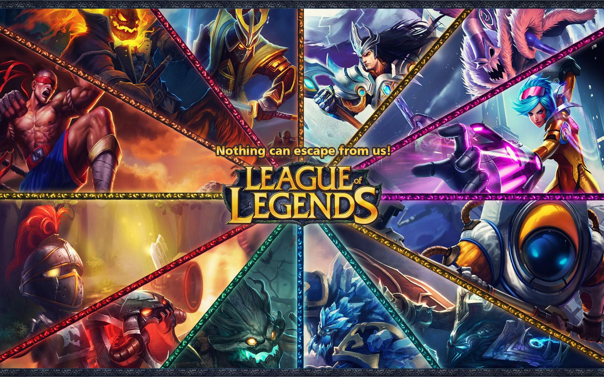 Wallpaper Video Games League Of Legends Champions League