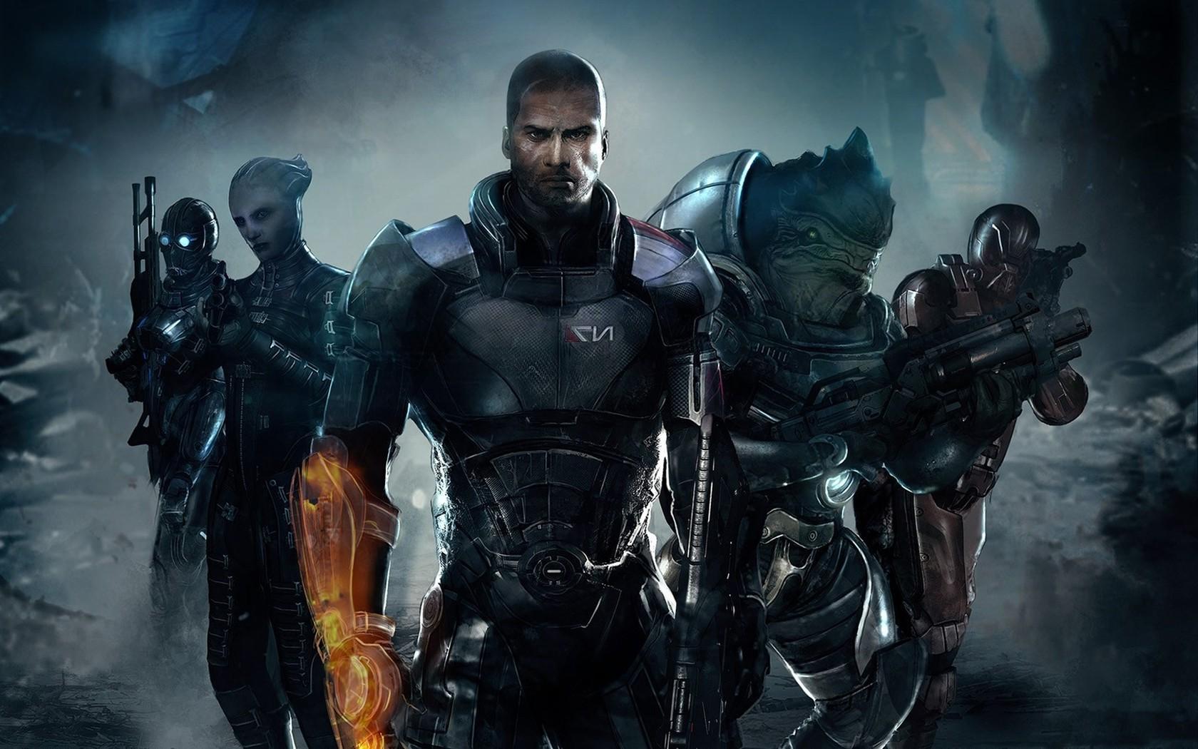 Wallpaper Video Games Mass Effect Machine Mass Effect 2