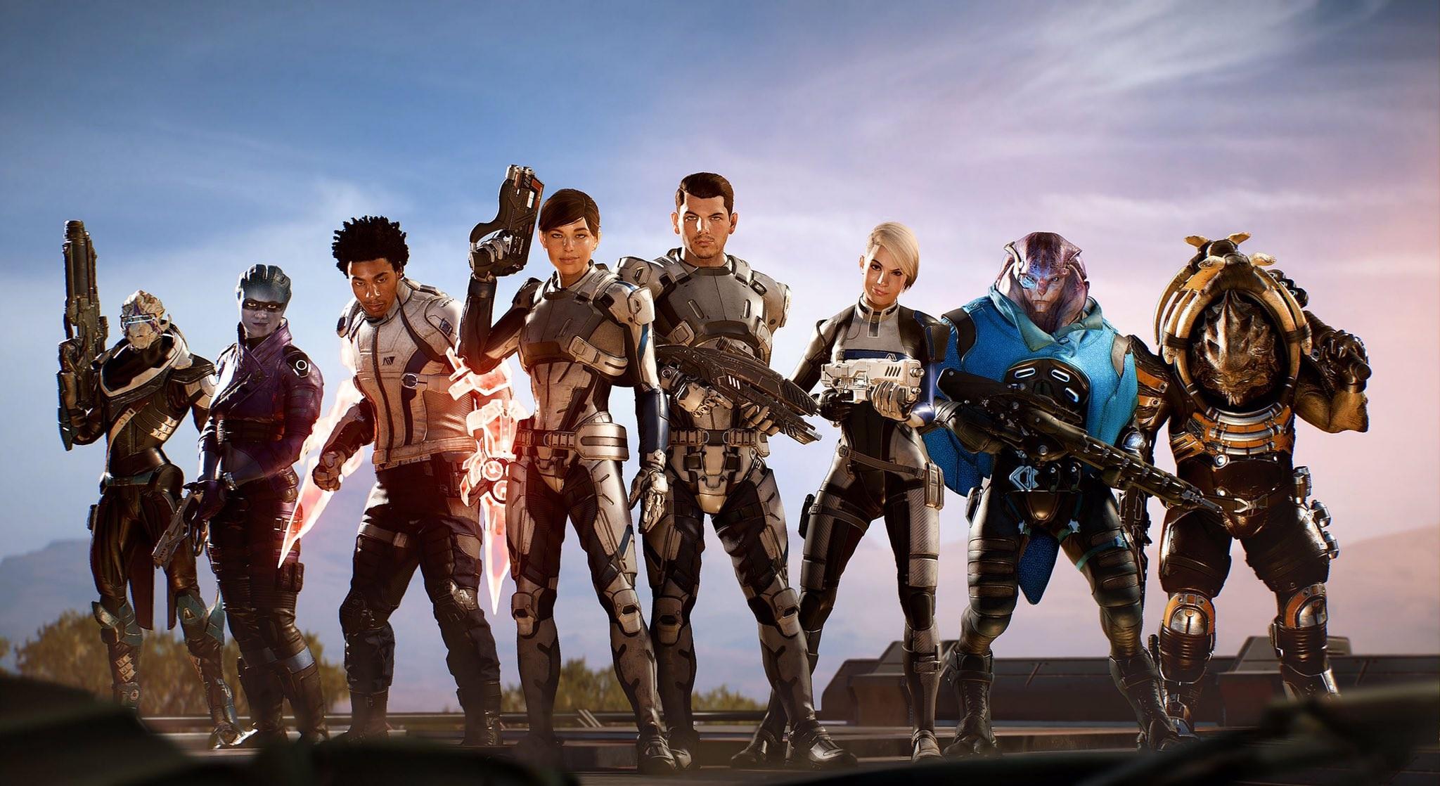 Wallpaper Video Games Mass Effect Sky Mass Effect Andromeda