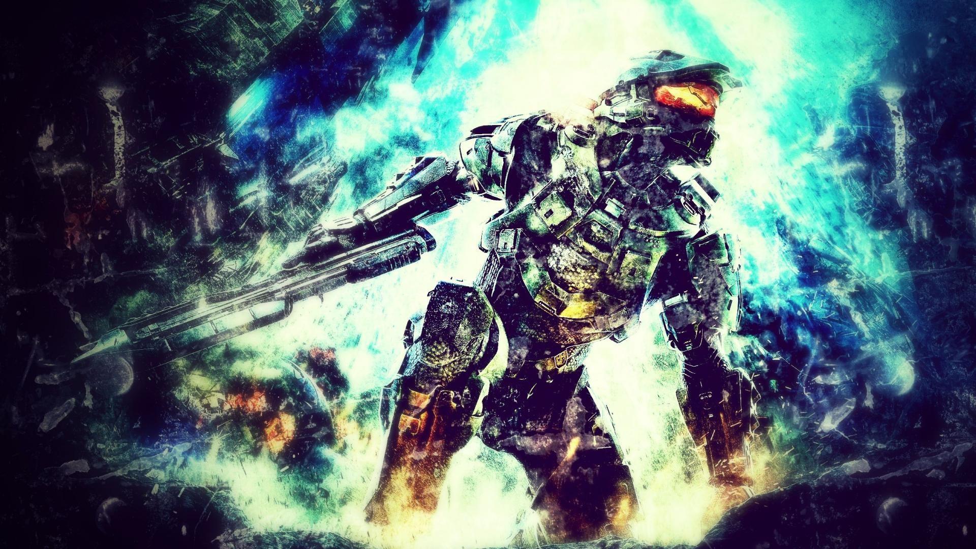 Wallpaper Video Games Master Chief Halo 4 Screenshot