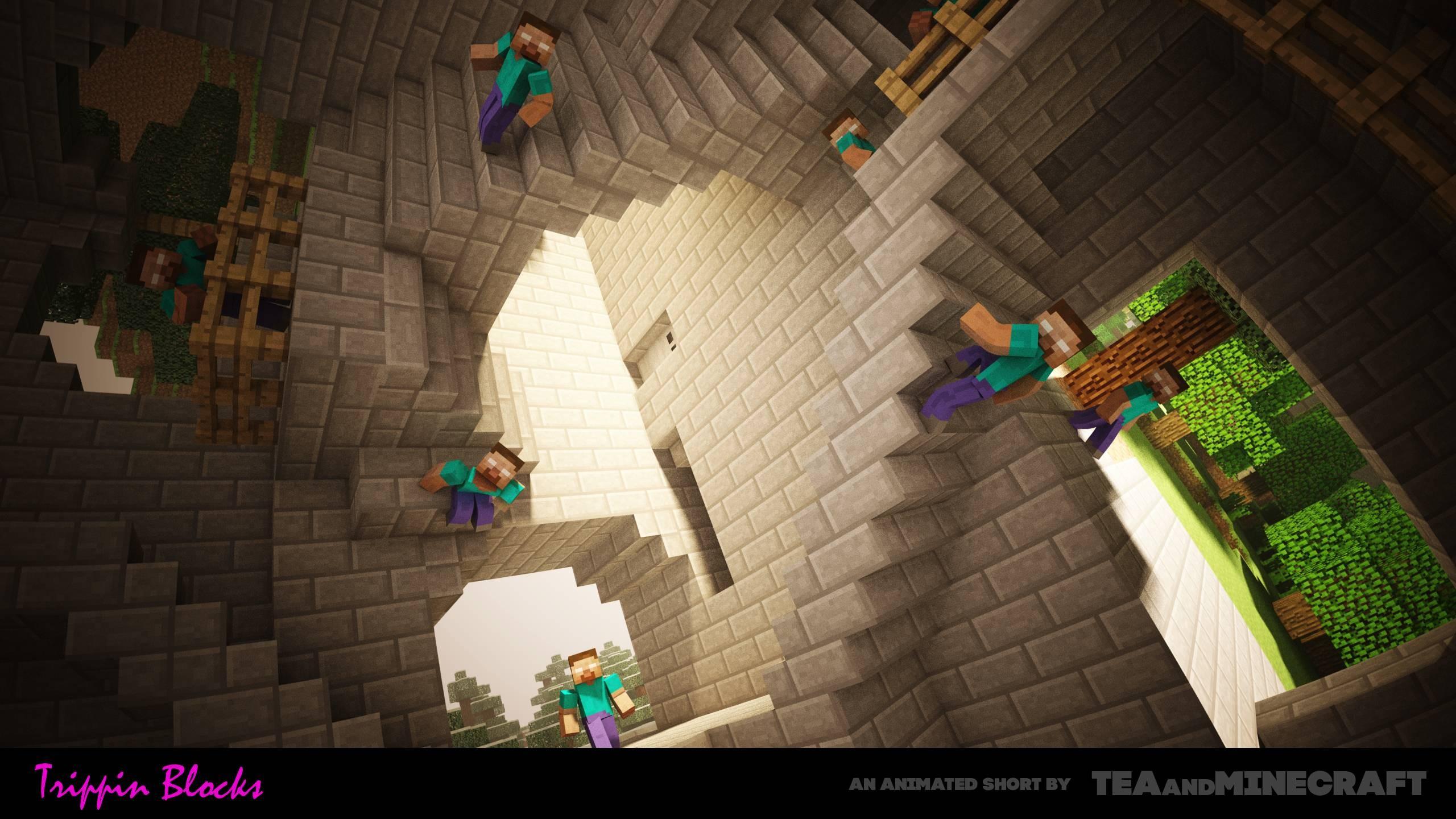 Wallpaper Video Games Minecraft Herobrine Screenshot X - Minecraft herobrine spiele