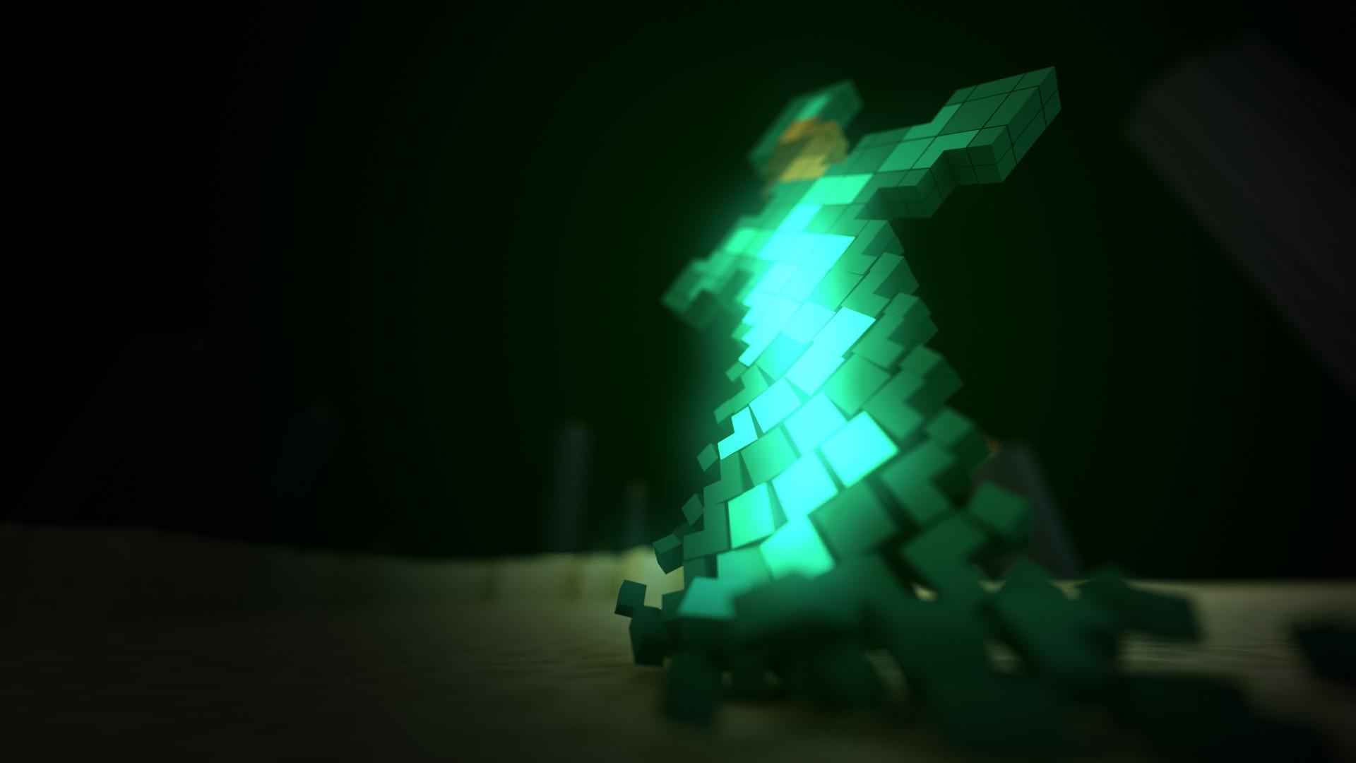 Wallpaper Video Games Minecraft Light Lighting