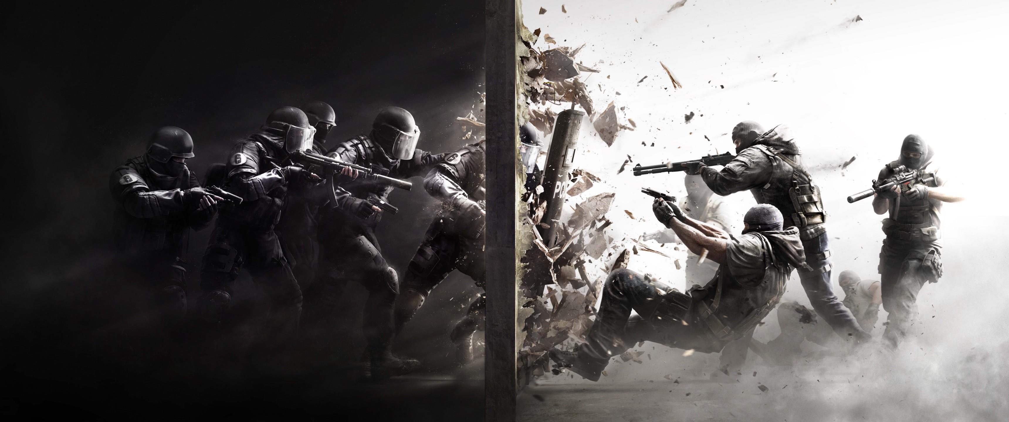 Wallpaper Video Games Rainbow Six Siege Darkness Screenshot
