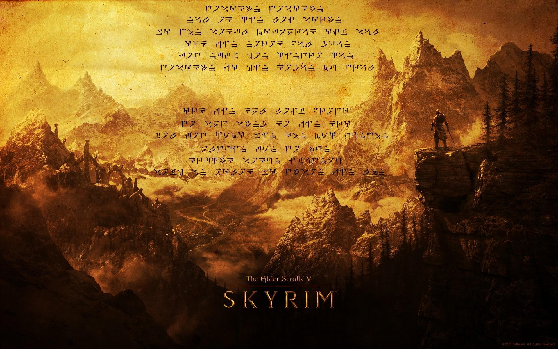 Video Games The Elder Scrolls V Skyrim Dragonborn Screenshot Album Cover