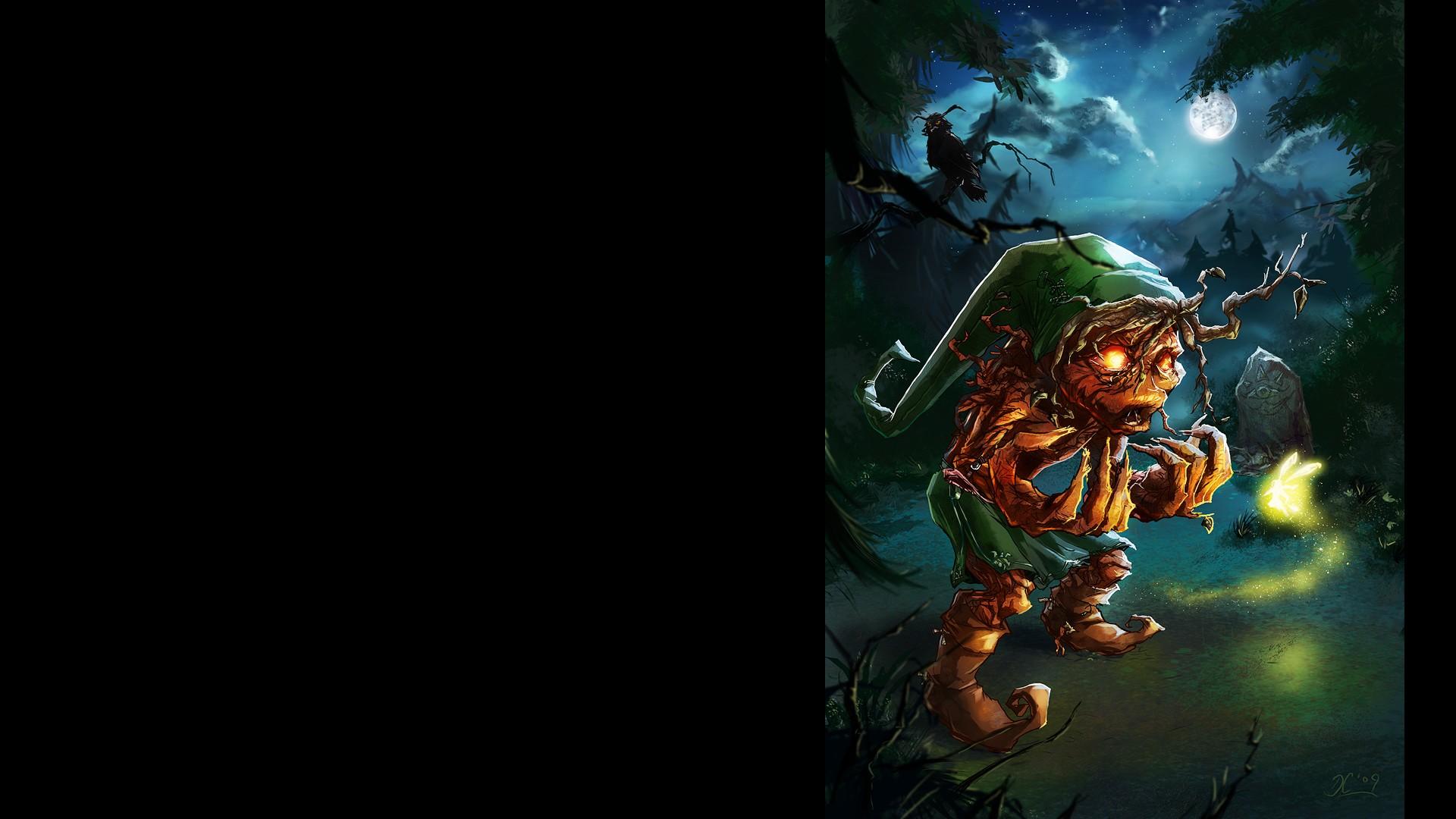 Wallpaper Video Games The Legend Of Zelda Link Darkness