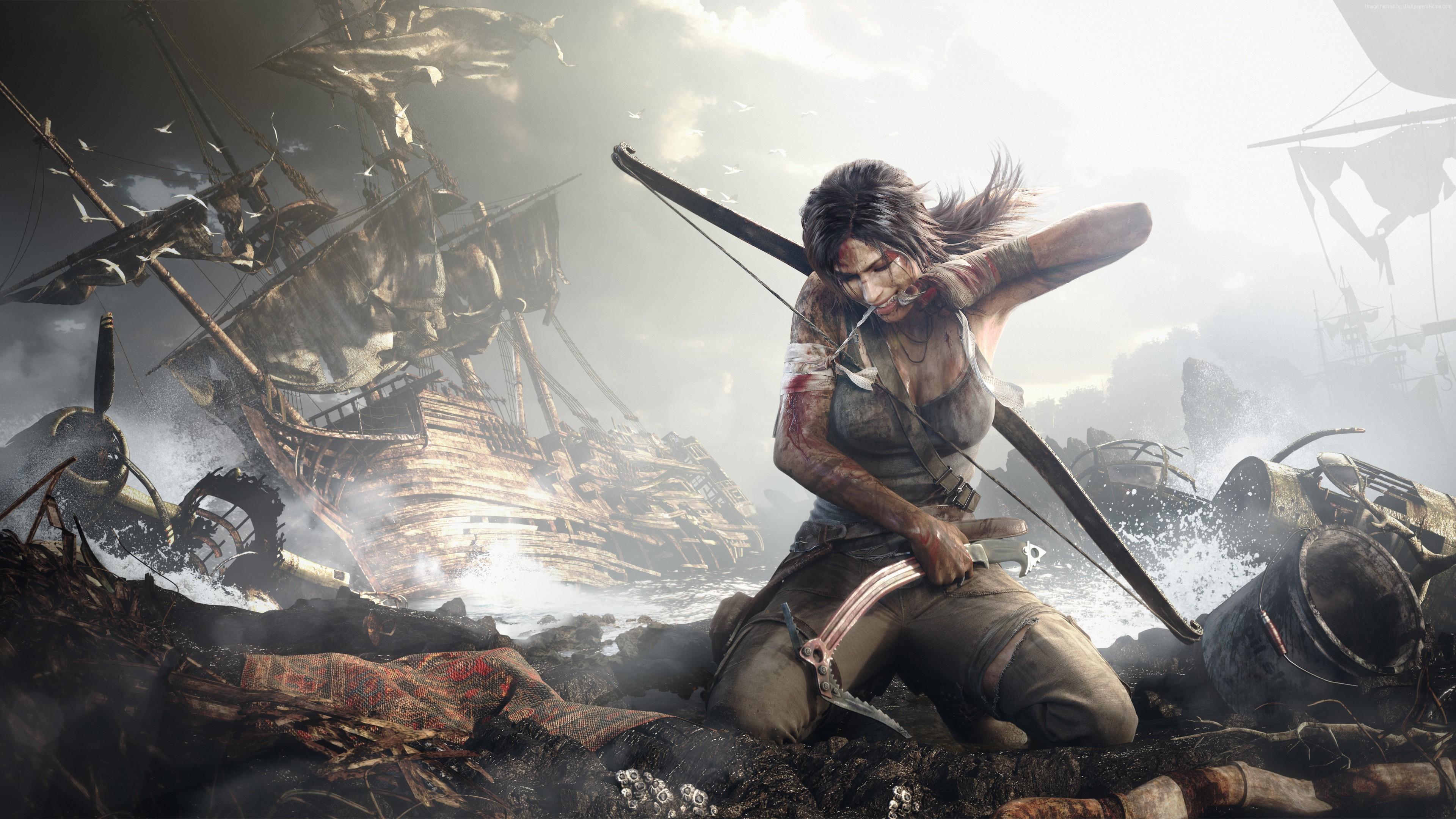 Papel De Parede : Videogames, Tomb Raider, Xbox One