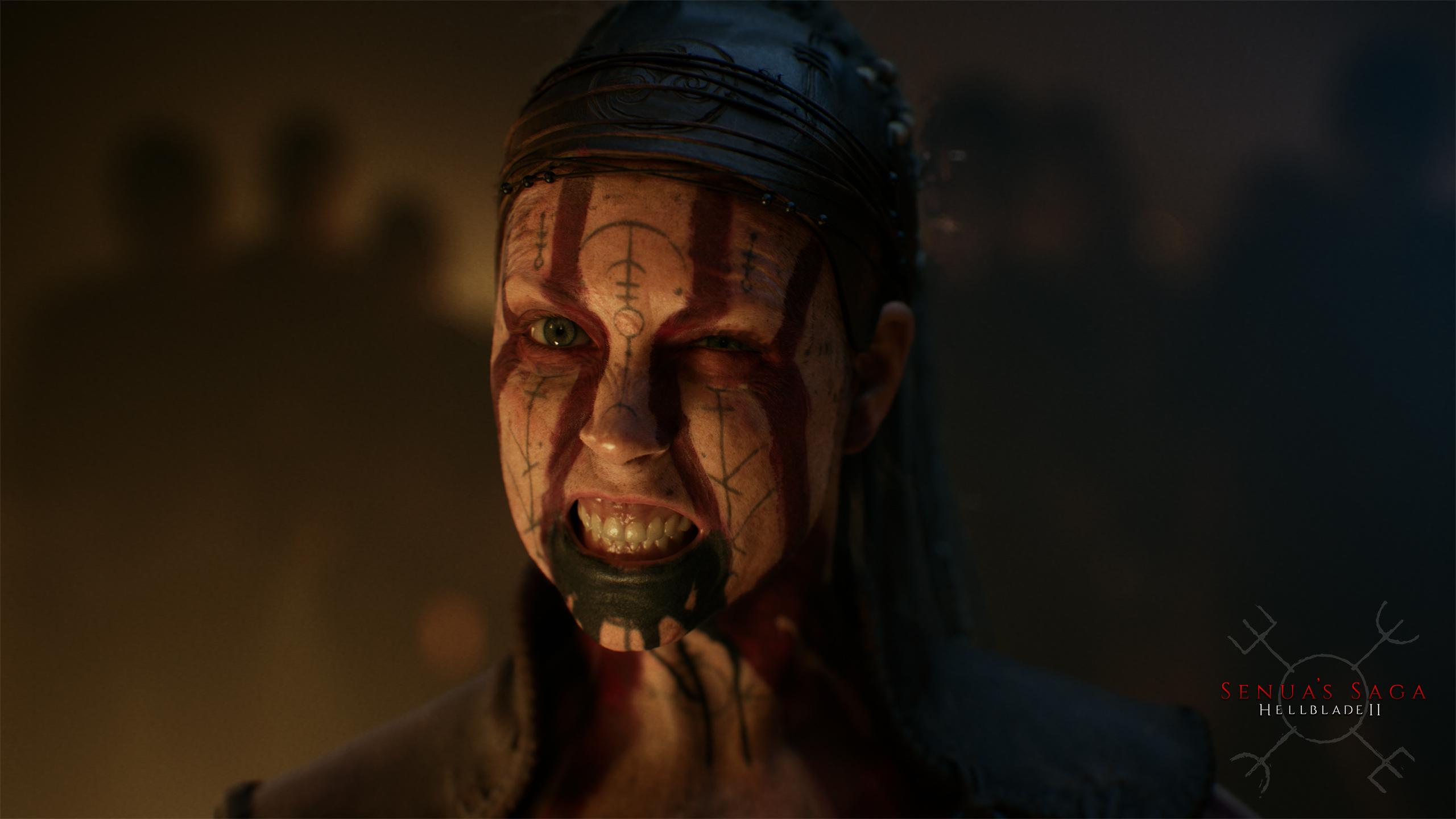 video games Video Game Art video game girls Vikings Norse mythology dark Senua Hellblade Senua's Sacrifice Senua's Saga Hellbalde II 1855449
