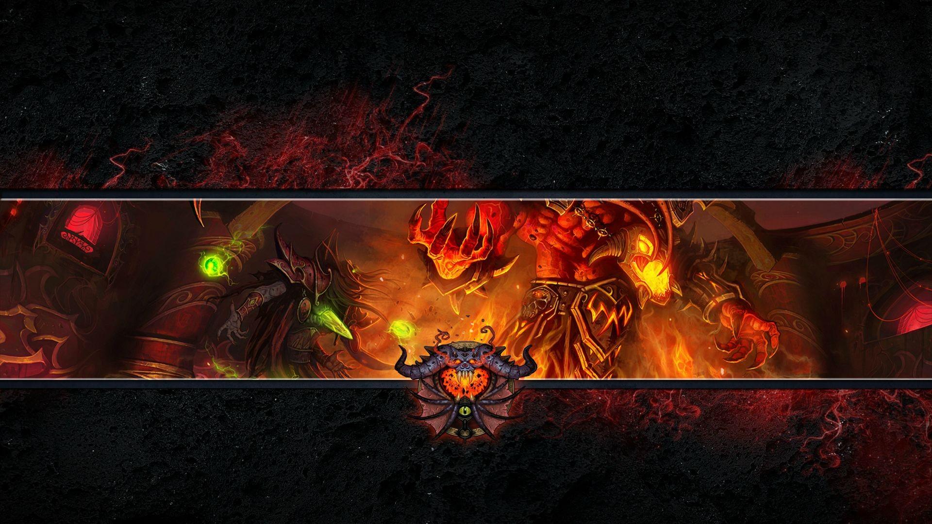 wallpaper : video games, world of warcraft, warlock, darkness