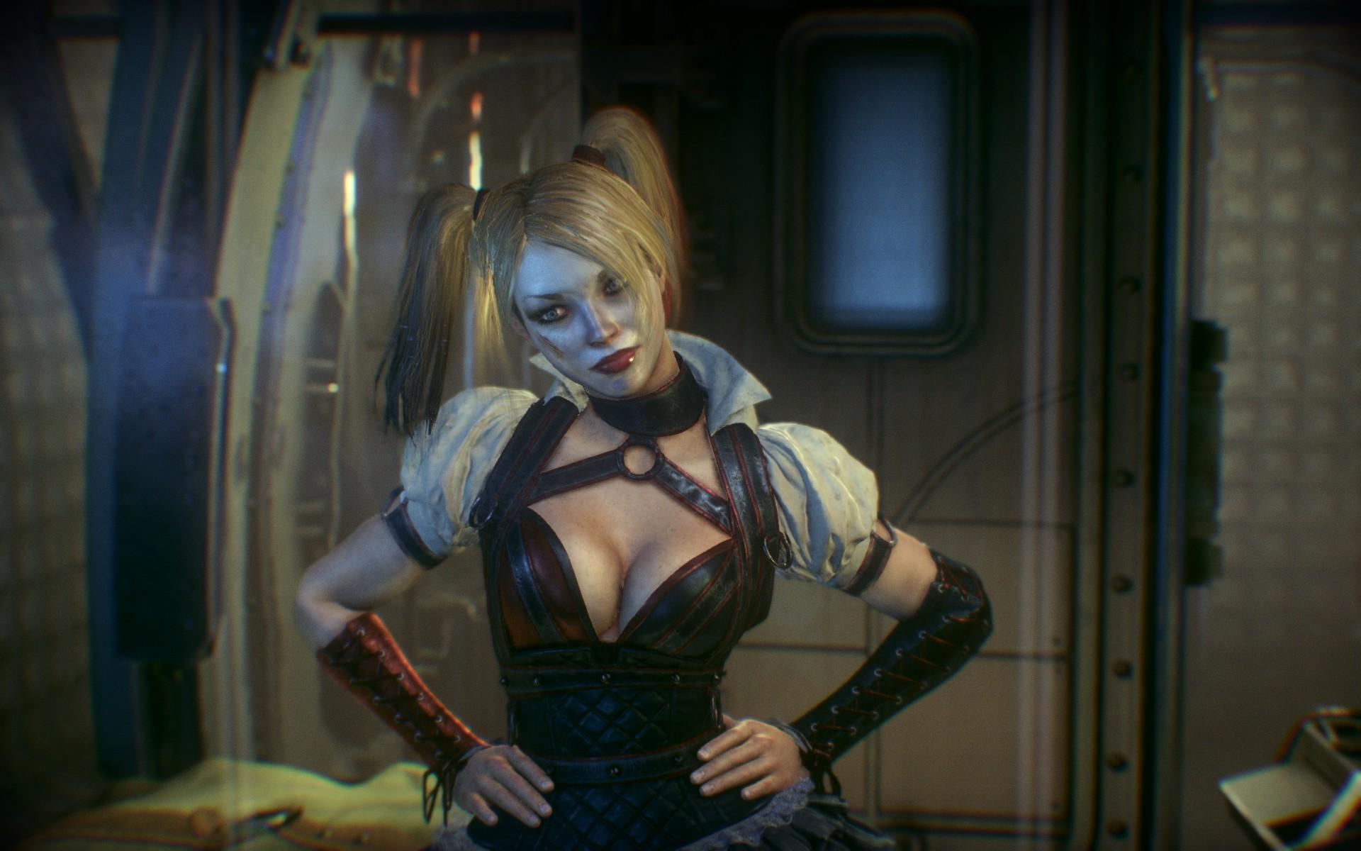 Wallpaper Video Games Anime Batman Arkham Knight Harley Quinn