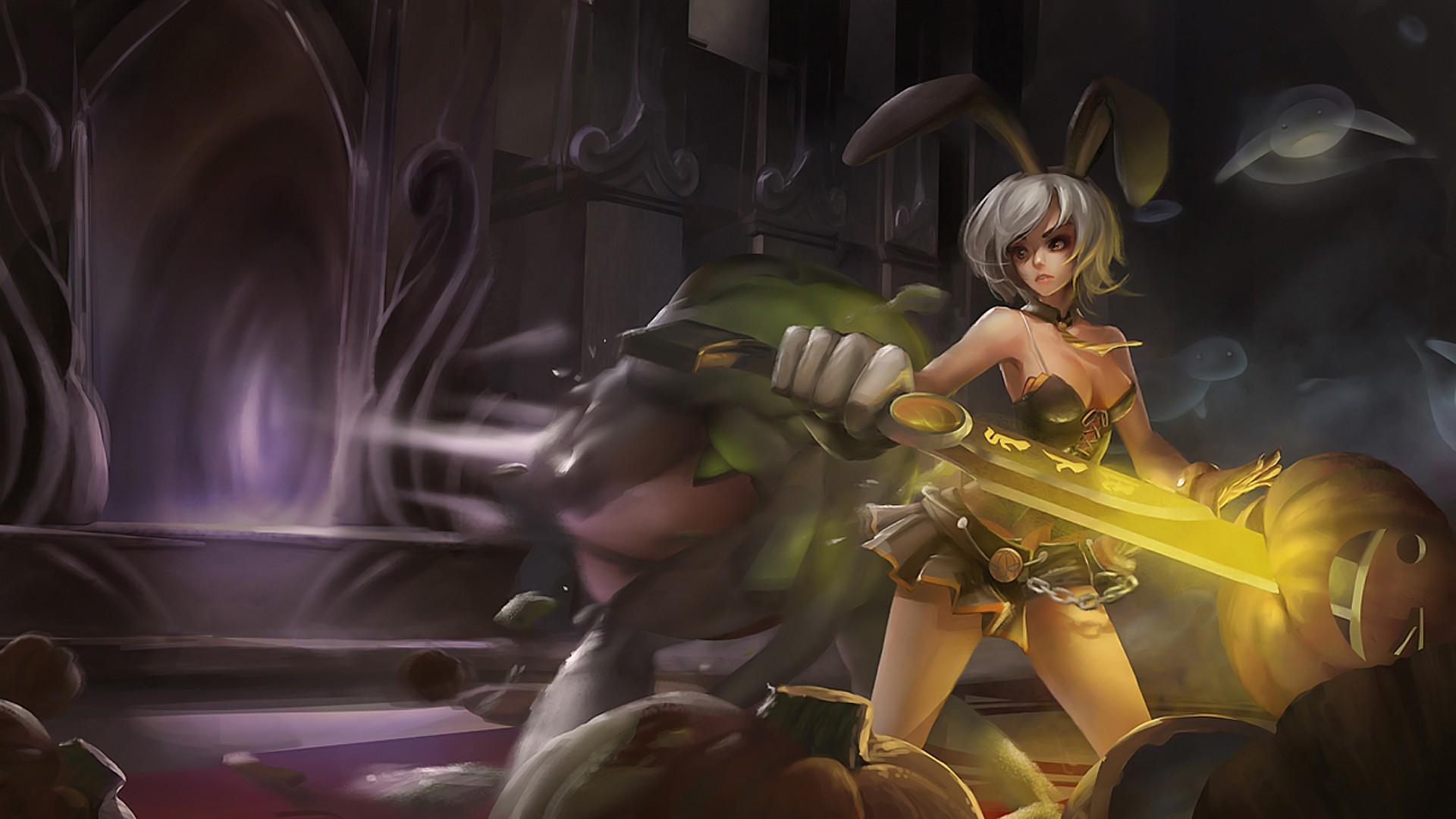Wallpaper Video Games Anime League Of Legends Riven
