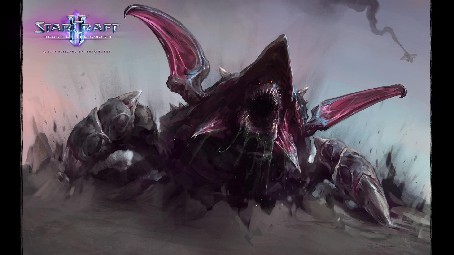 fond d'ecran anime starcraft 2