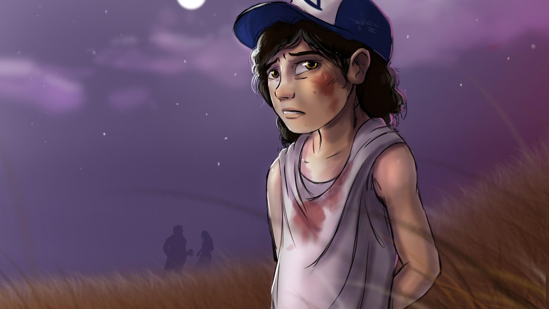 Wallpaper Video Games Artwork The Walking Dead Person