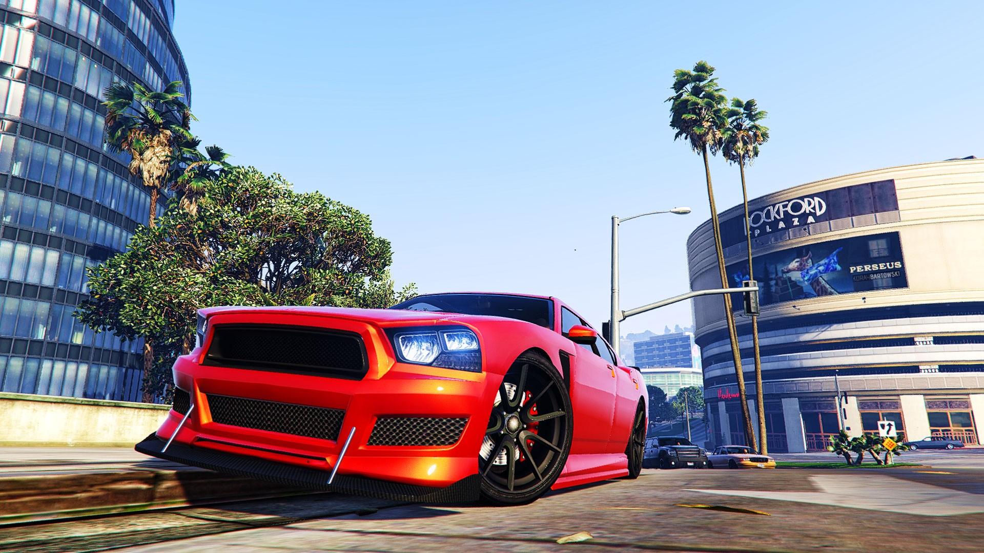 Wallpaper : video games, building, Grand Theft Auto V