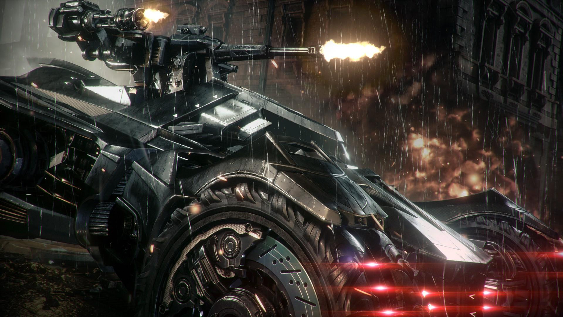 Wallpaper Video Games Car Vehicle Batman Arkham Knight