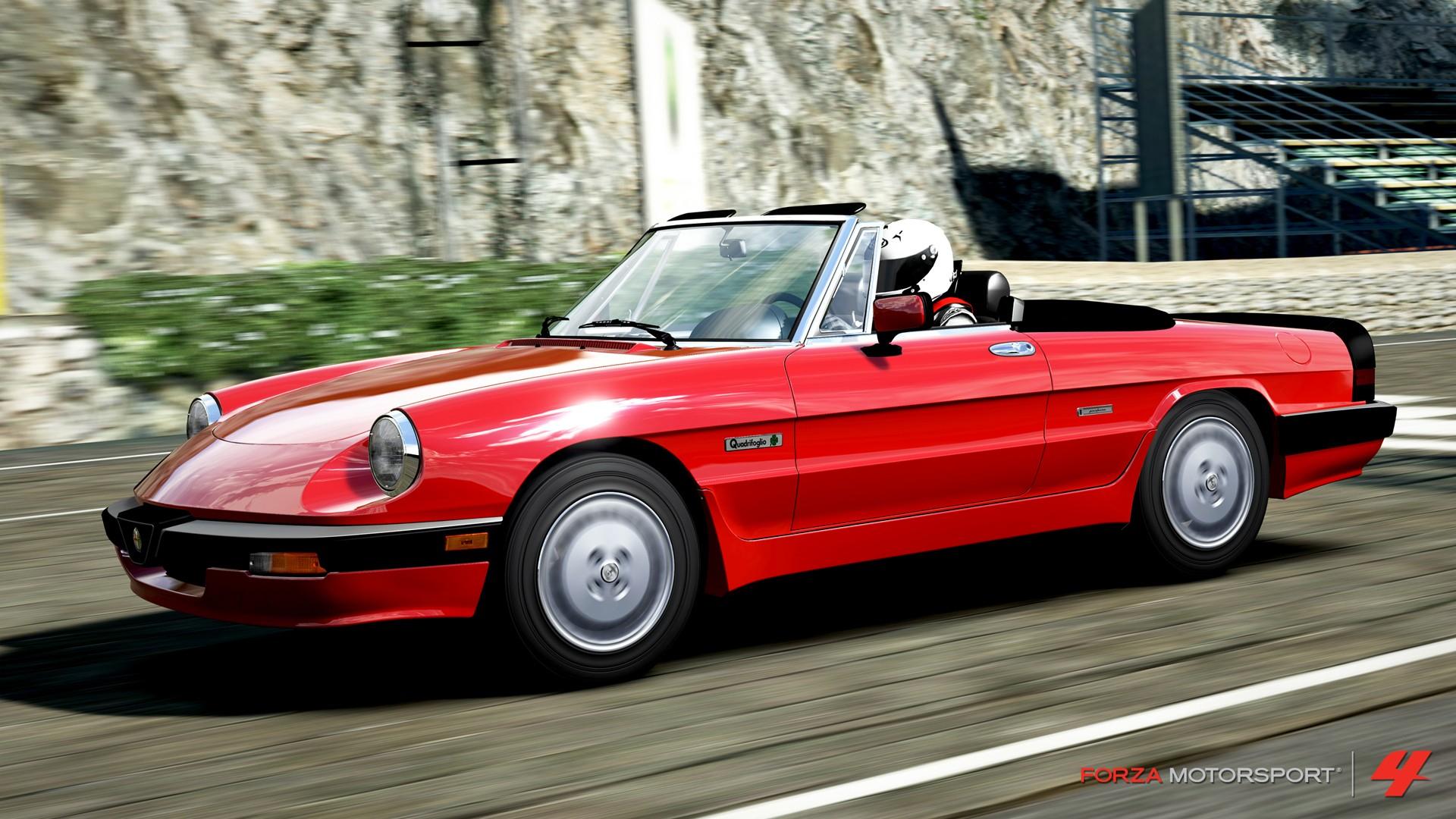 Wallpaper Video Games Sports Car Classic Car Convertible Forza