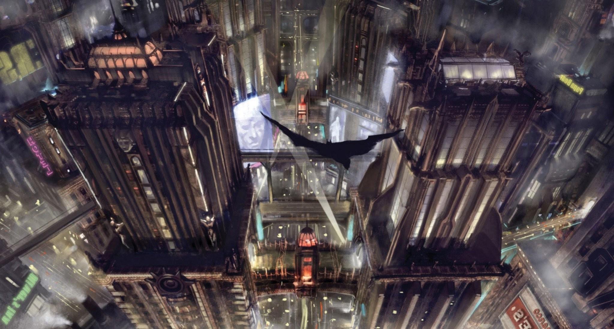 Fondos De Pantalla Videojuegos Paisaje Urbano Batman