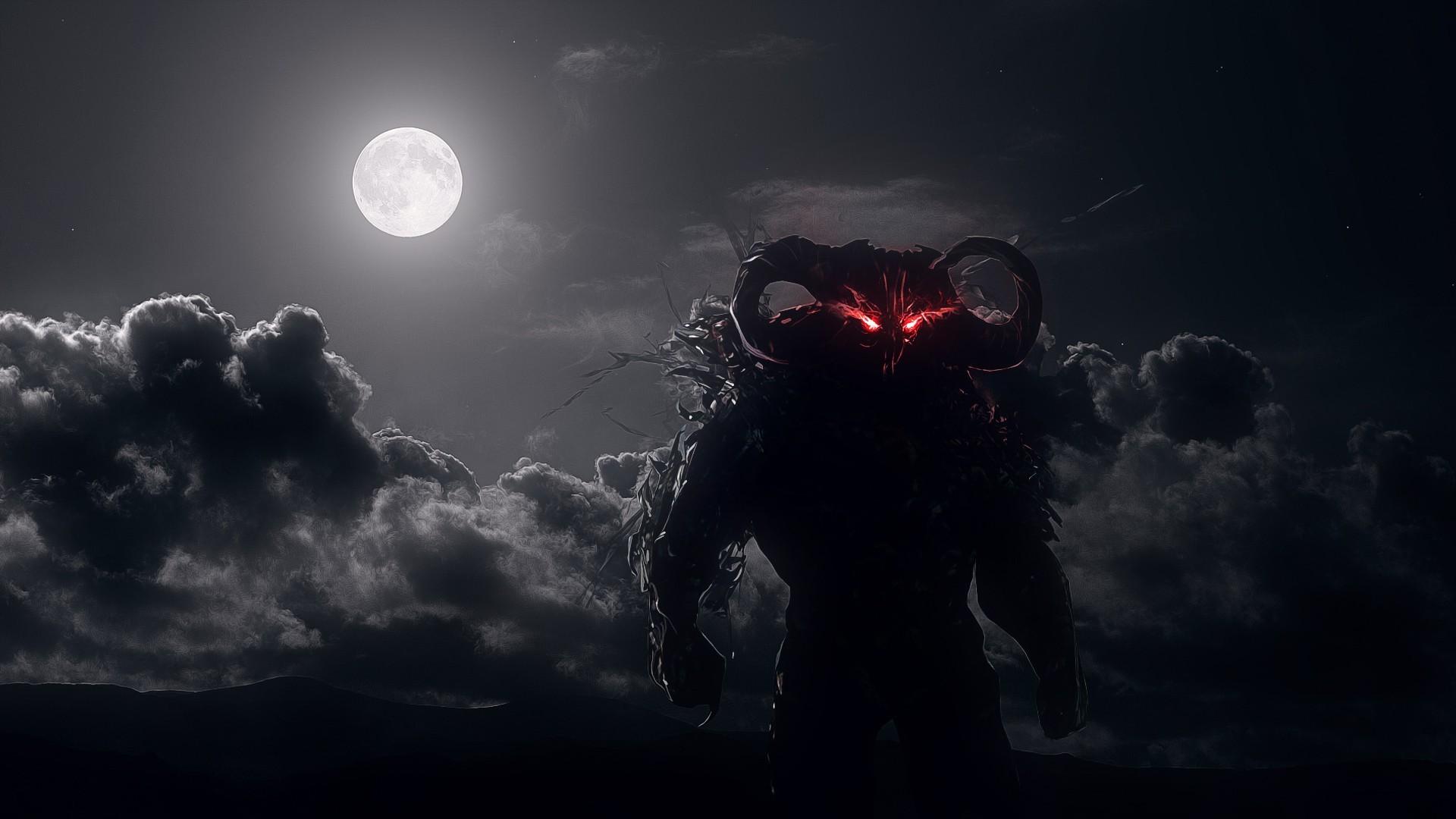 Video Games Dark Night Red Moon Moonlight Midnight Dahaka Prince Of Persia Warrior Within