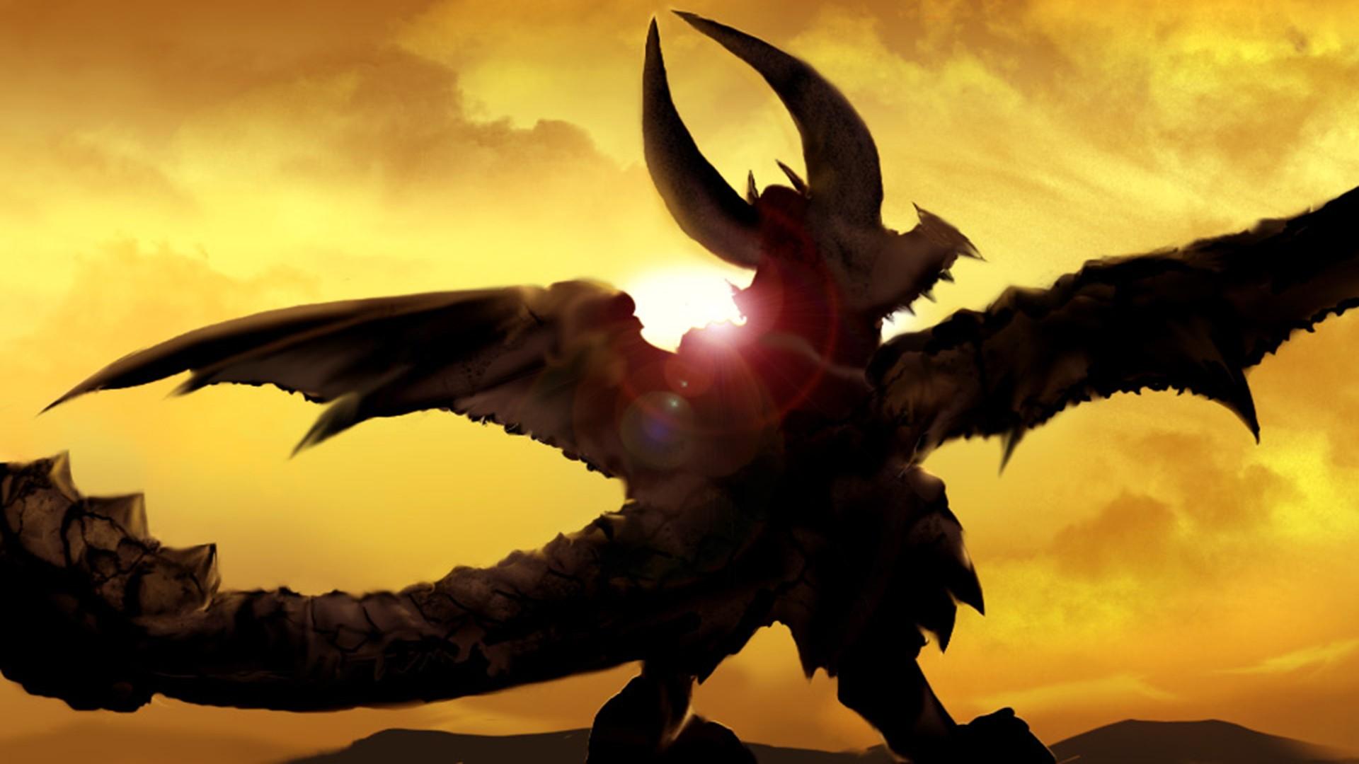デスクトップ壁紙 ビデオゲーム ドラゴン 悪魔
