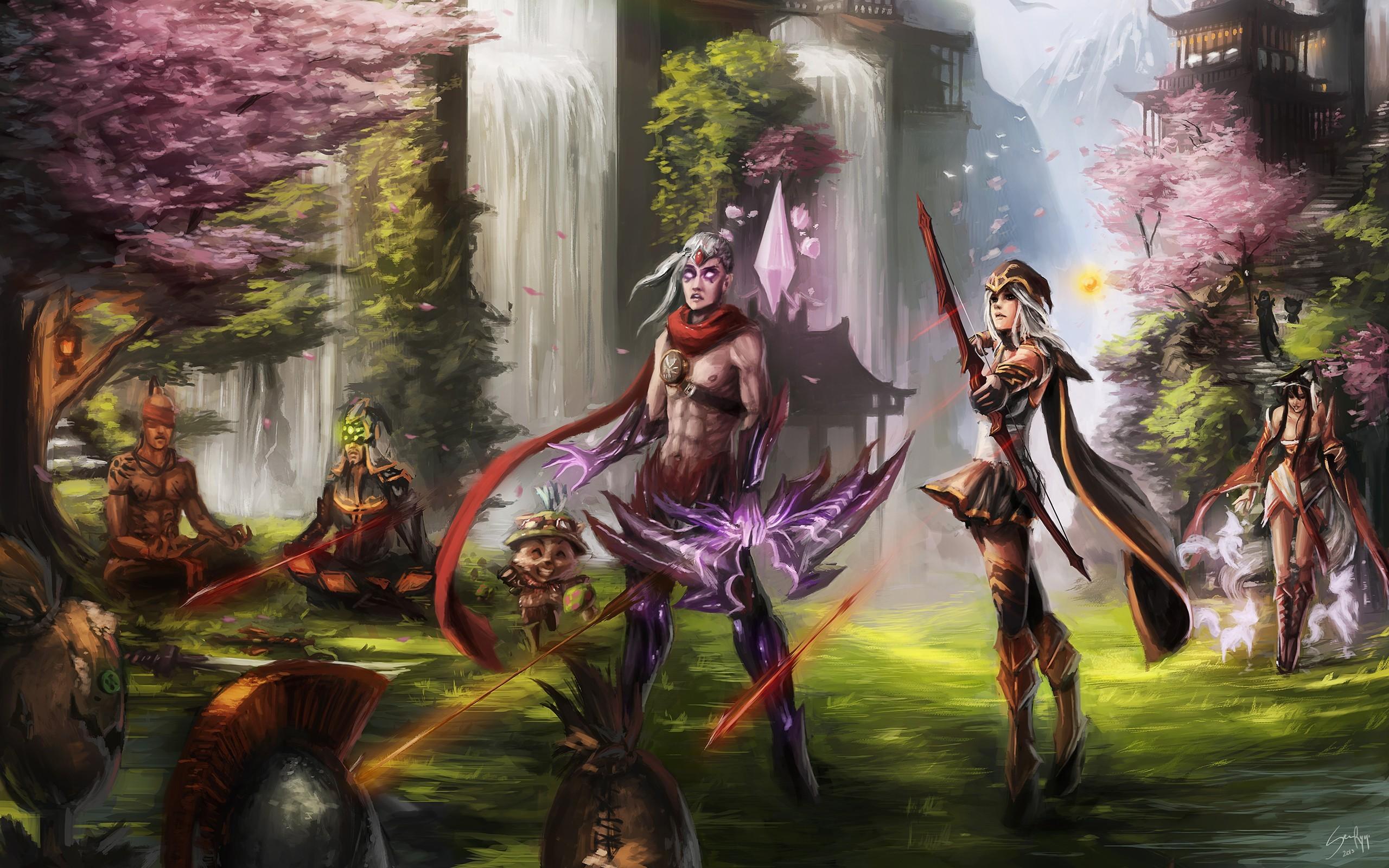 Wallpaper Video Games Fantasy Art League Of Legends Lee Sin