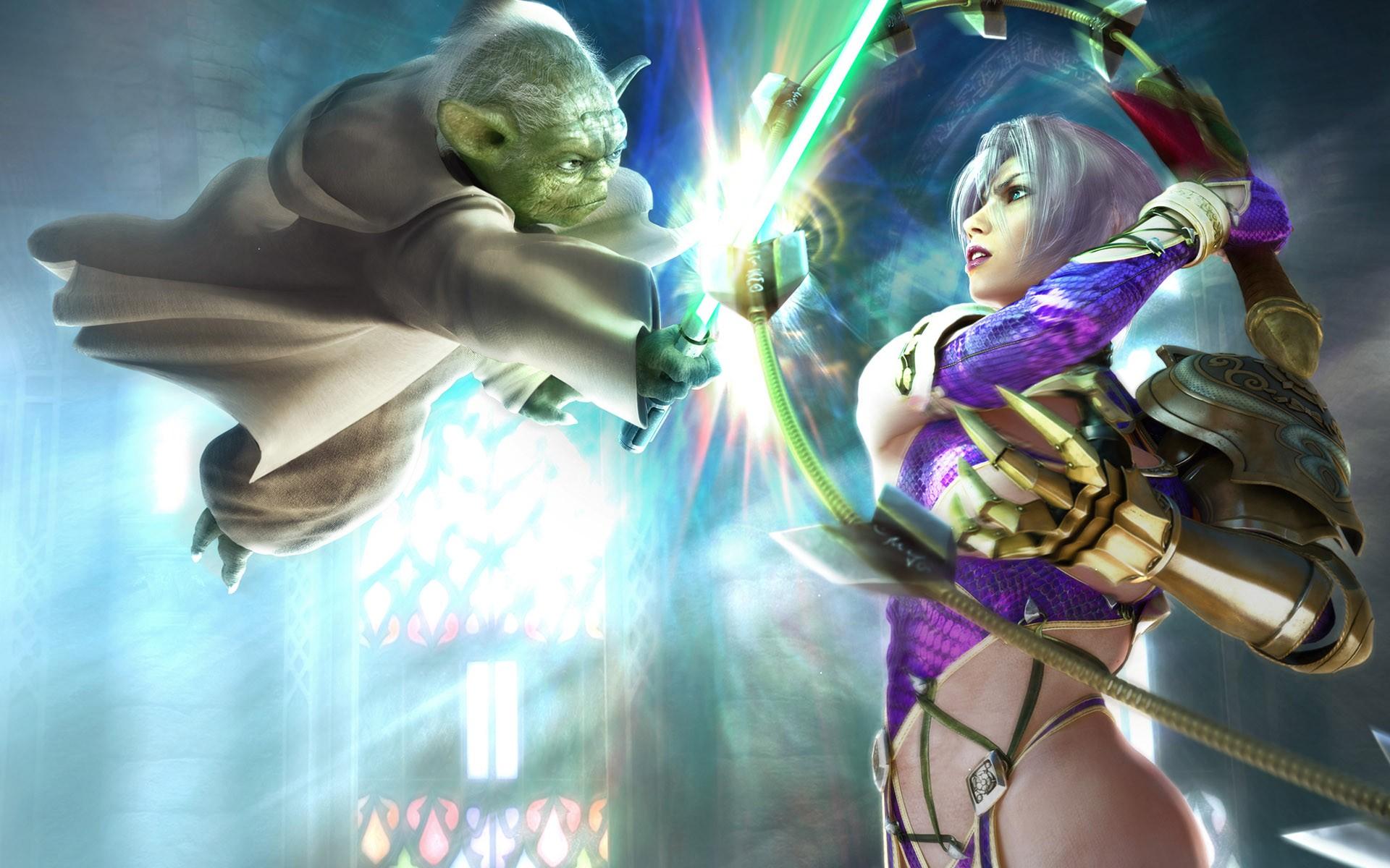 Fondos De Pantalla Videojuegos Arte Fantasía Anime Yoda