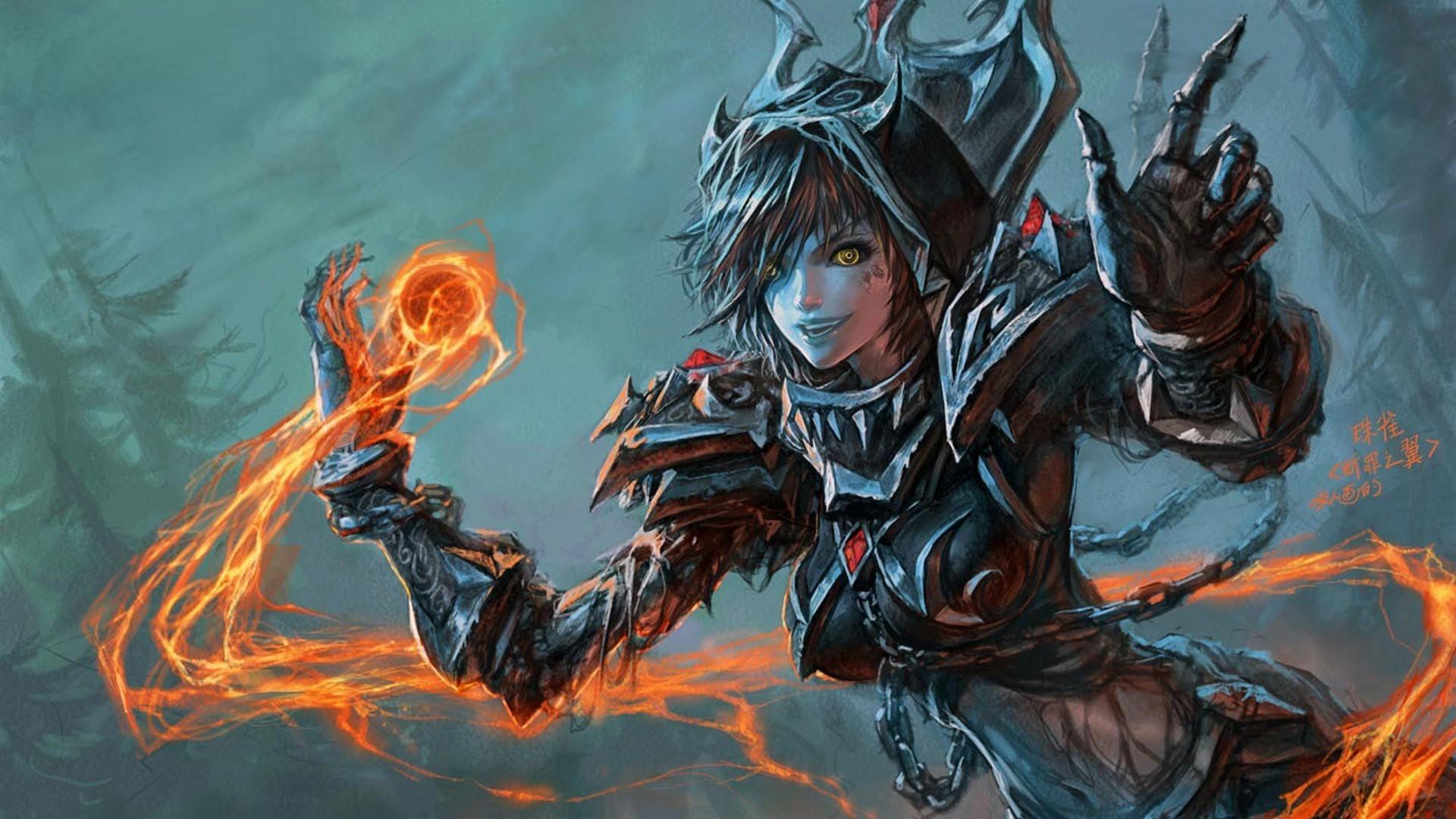 Wallpaper : video games, fantasy art, fantasy girl, anime