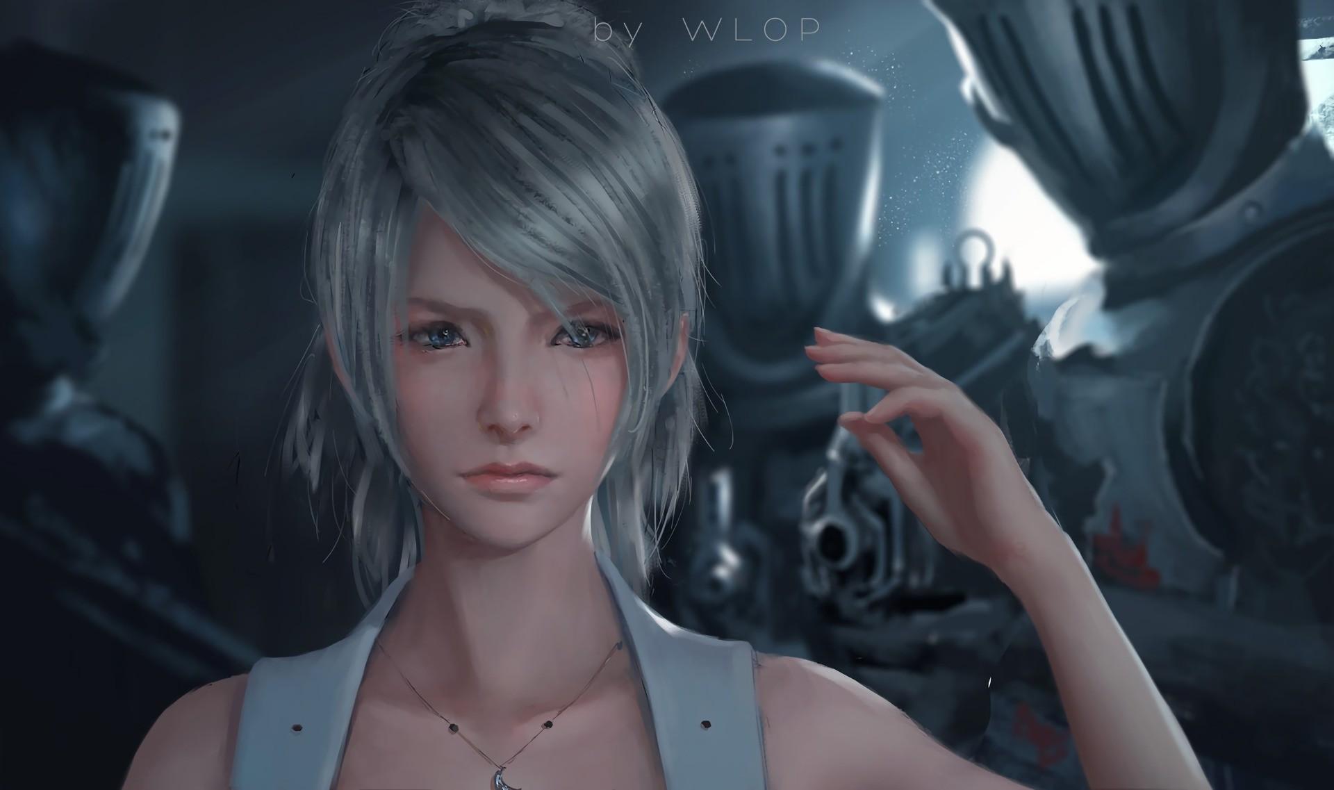 WLOP Final Fantasy XV Luna