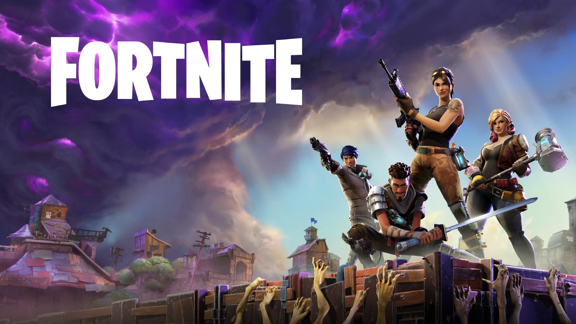 Video Games Fortnite Zombies Gun Sword