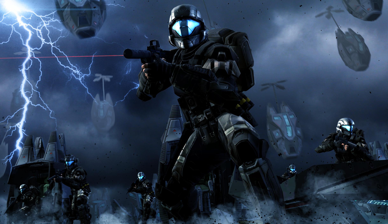 Wallpaper Video Games Futuristic Armor Halo 3 Odst Submachine