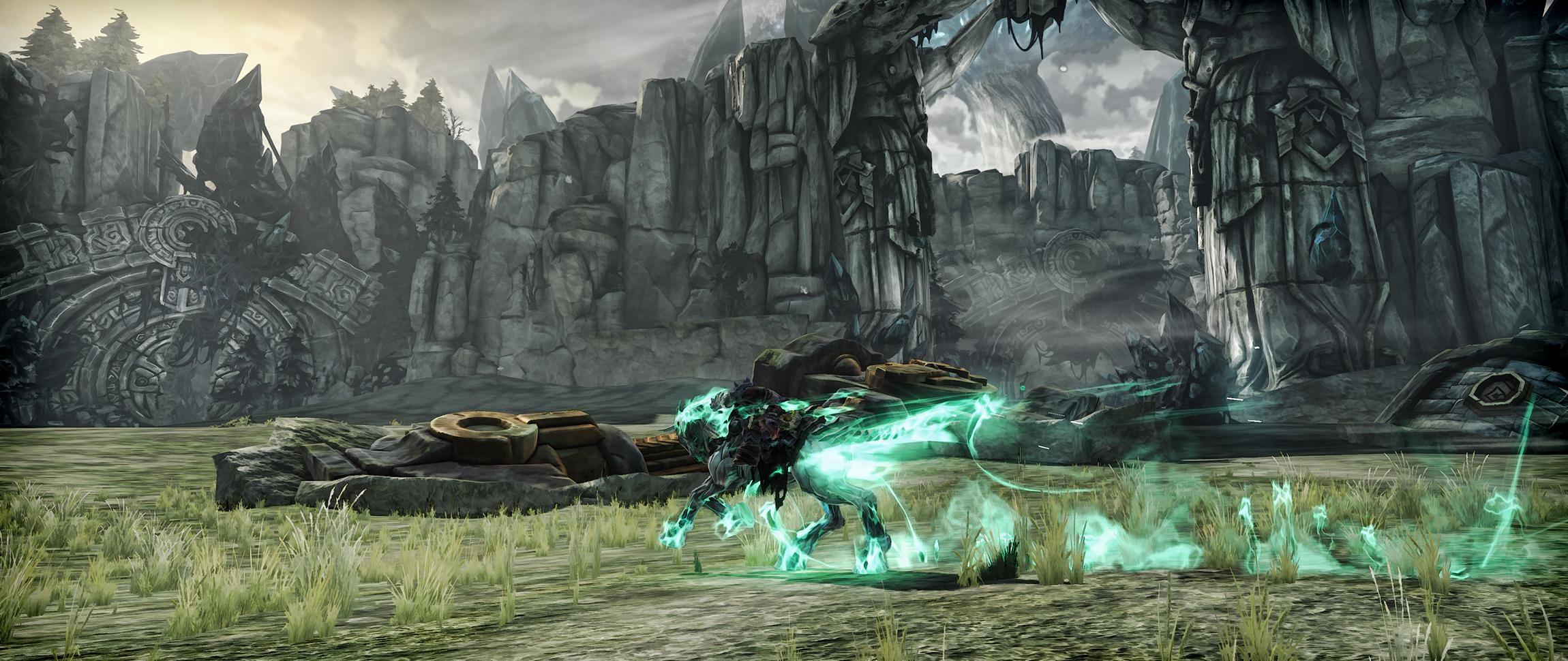 Wallpaper Video Games Jungle Darksiders 2 Terrain