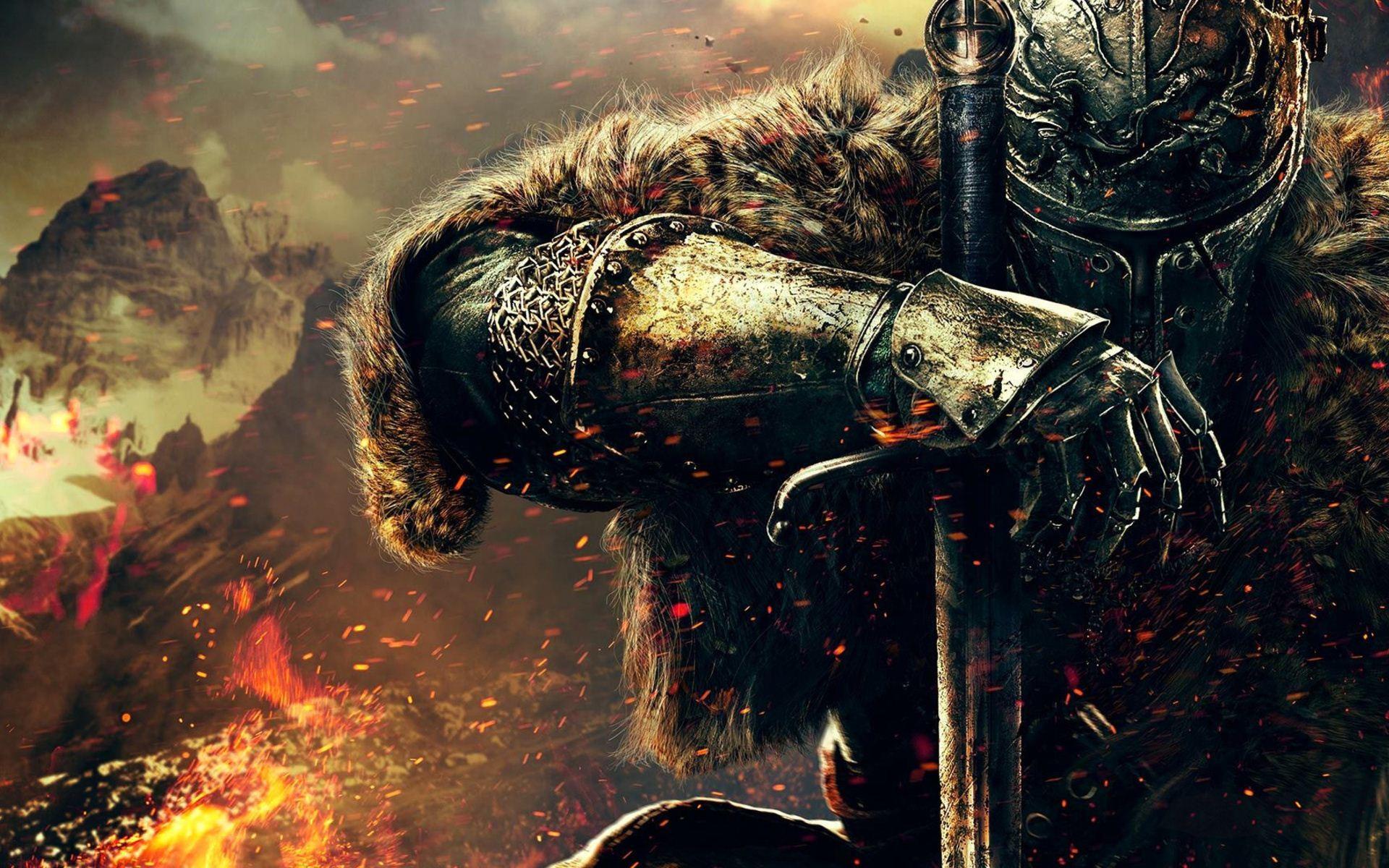 3d Sword Games Hd Wallpaper For Mobile: Fondos De Pantalla : Videojuegos, Caballero, Dark Souls II